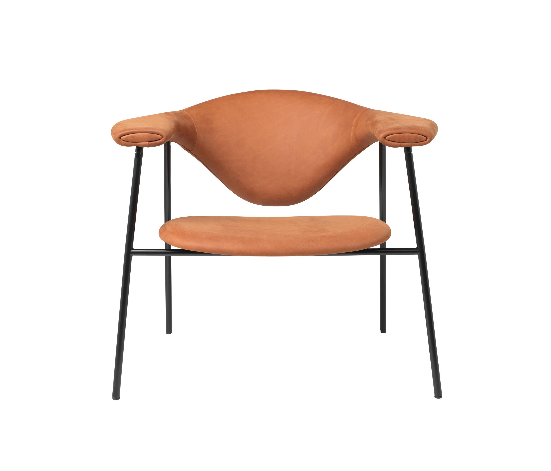 Masculo Lounge Chair 4 Legged Metal Version Architonic