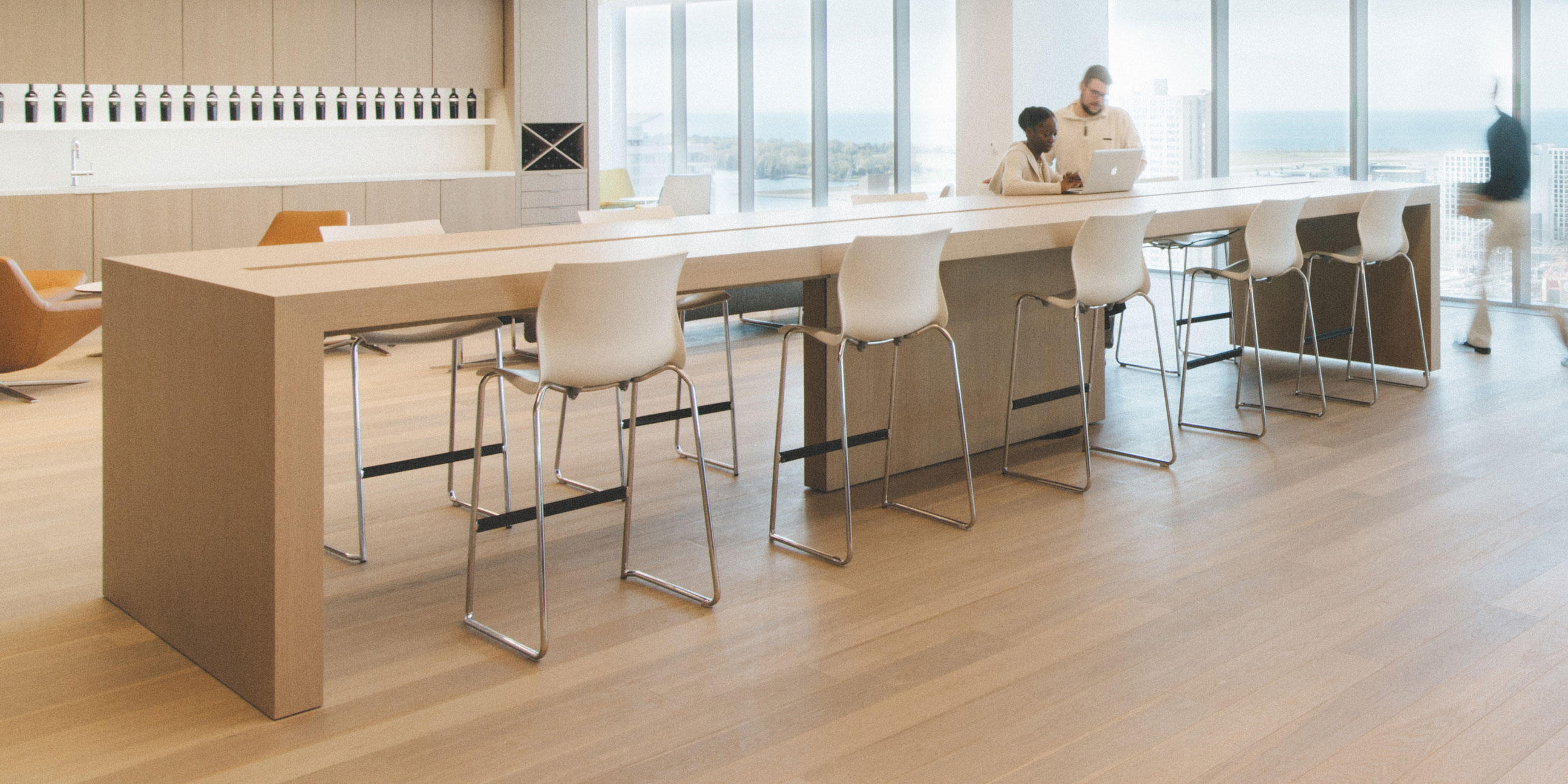 Community table cafeteria tables from teknion architonic for Furniture 08054