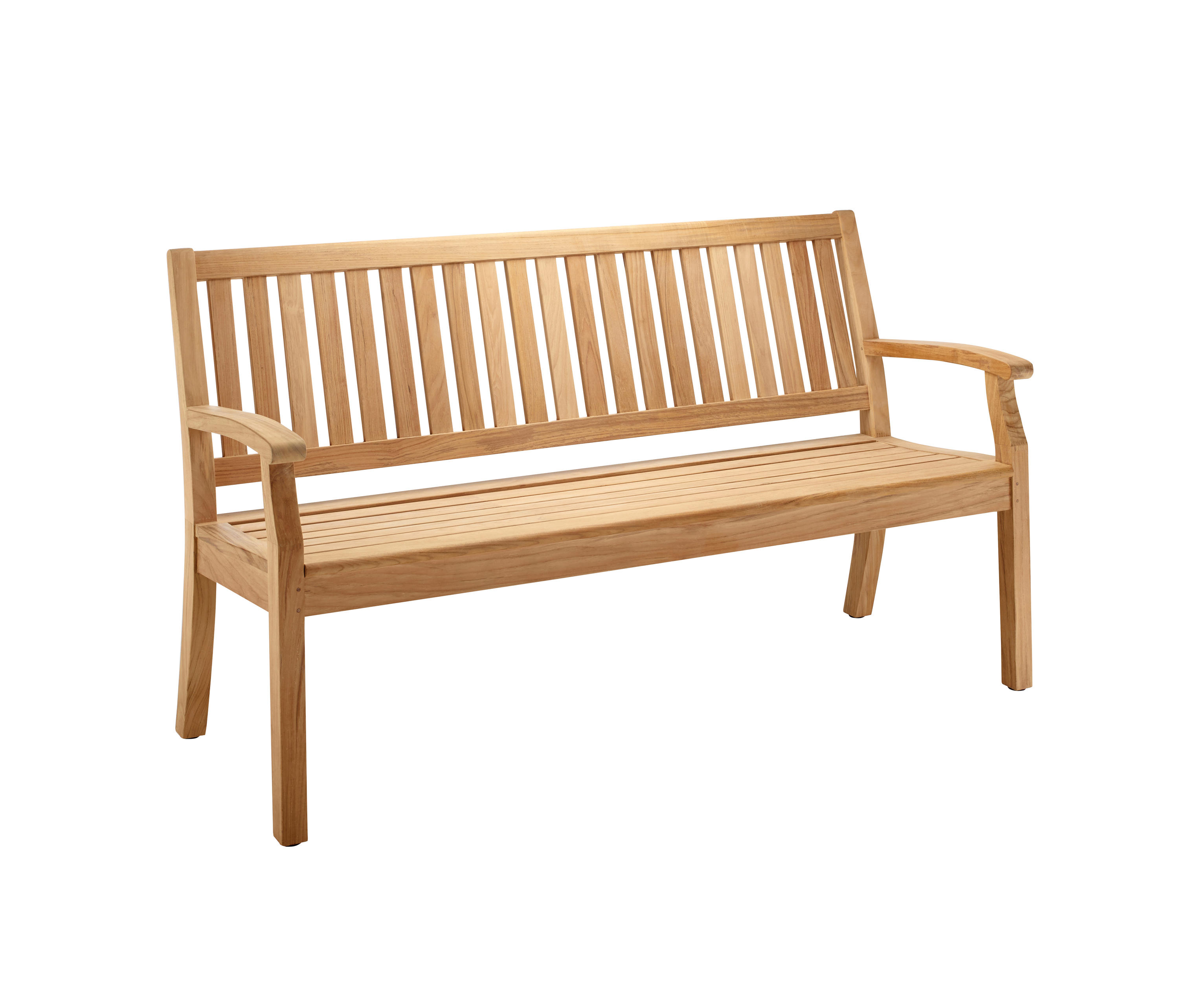 Windsor Bench With Arm And Back Medium Garden Benches From Solpuri Architonic