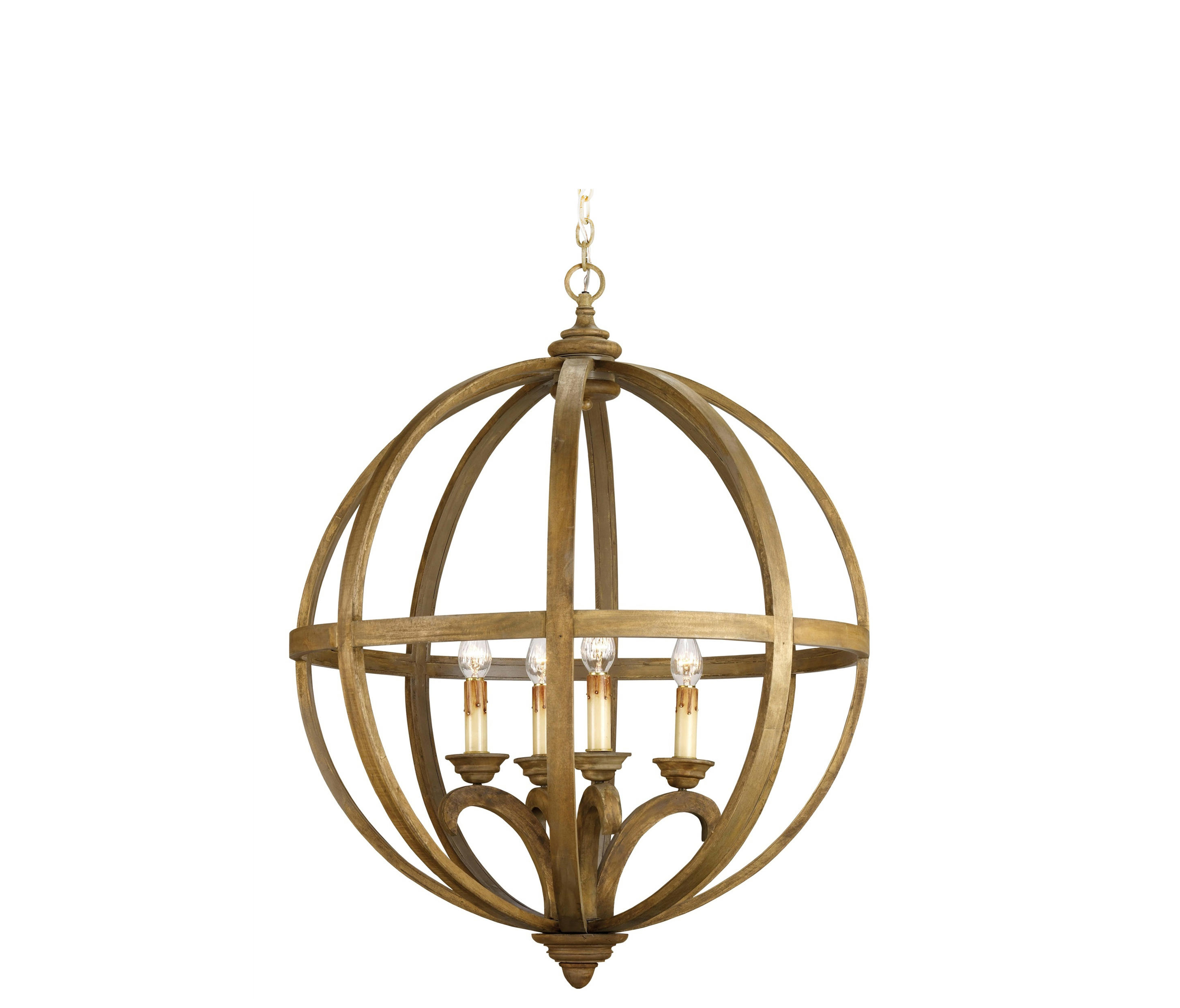 Axel Orb Chandelier Large Architonic