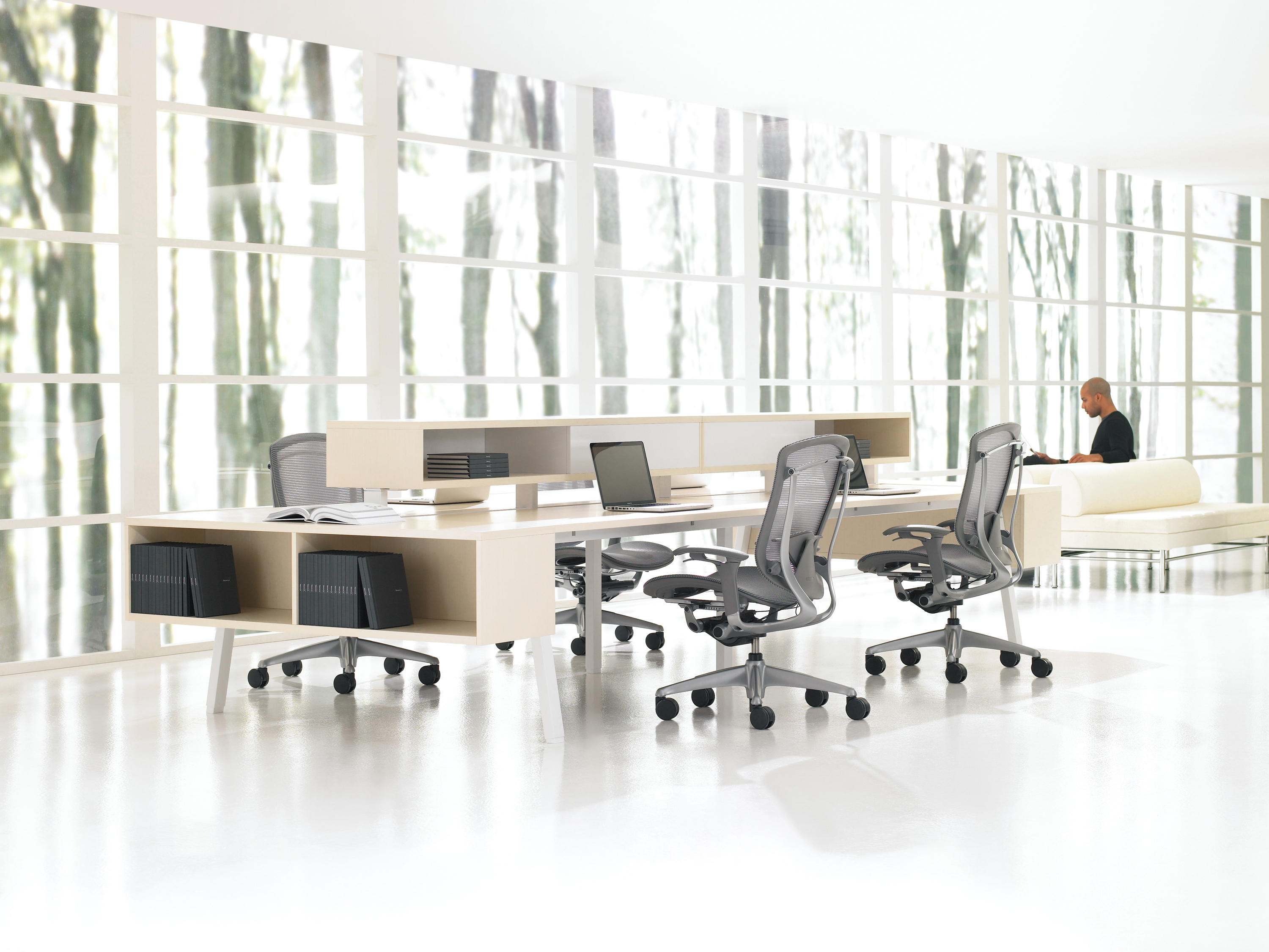 Interpret desking systems from teknion architonic for Furniture 08054