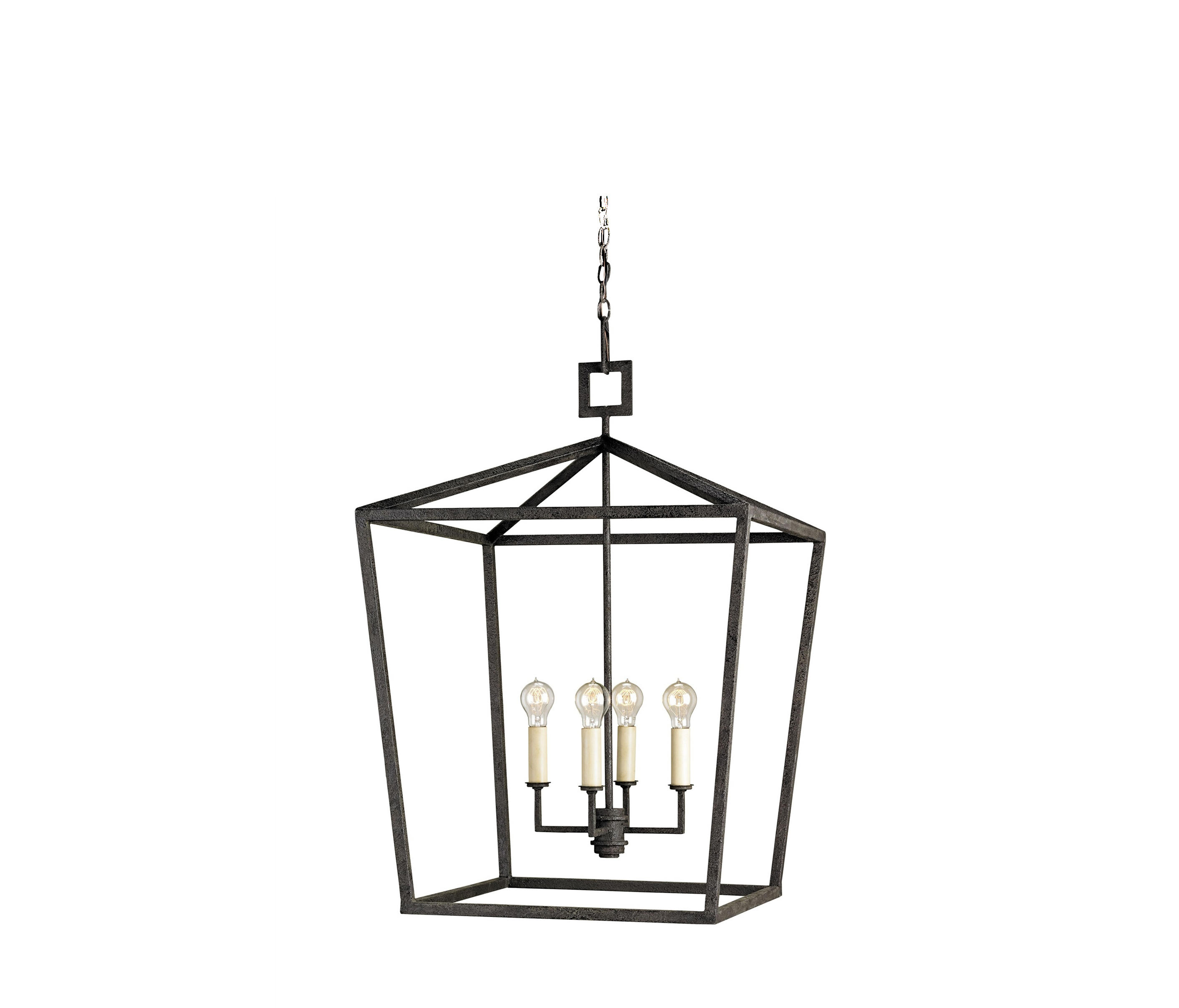 Lovely Denison Lantern, Small By Currey U0026 Company | Suspended Lights Pictures