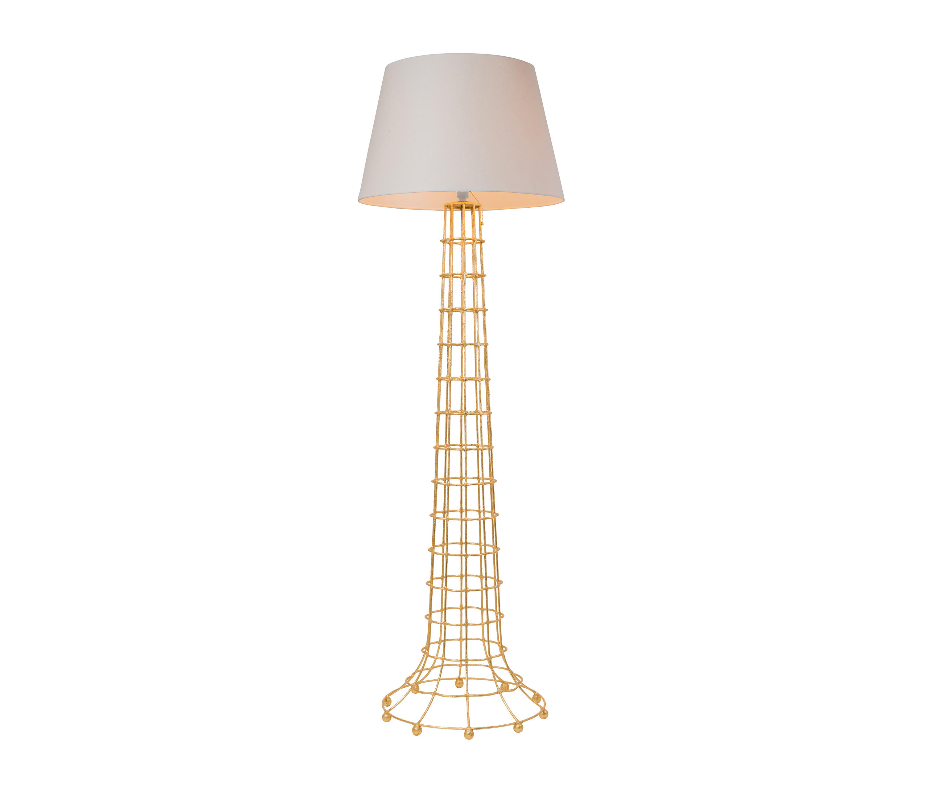 Gilded Cage Floor Lamp By Fisher Weisman Free Standing Lights