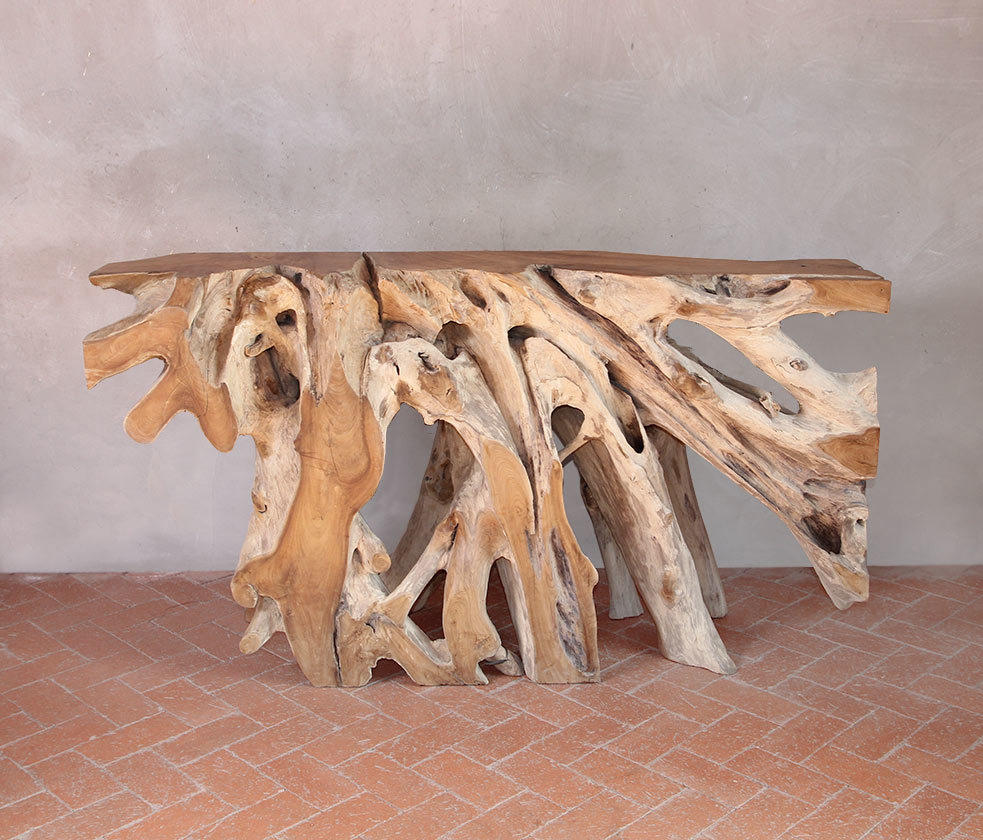 ... Borneo Teak Root Console Table By Pfeifer Studio | Console Tables ...