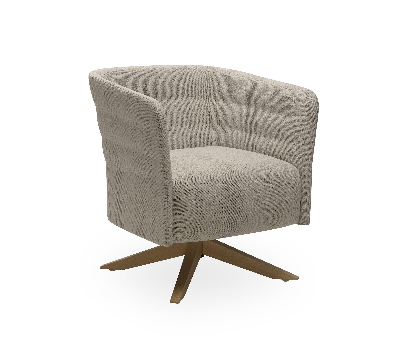 Cell 72 petit fauteuil pivotant 4 rayons rembourr avec - Petit fauteuil pivotant ...