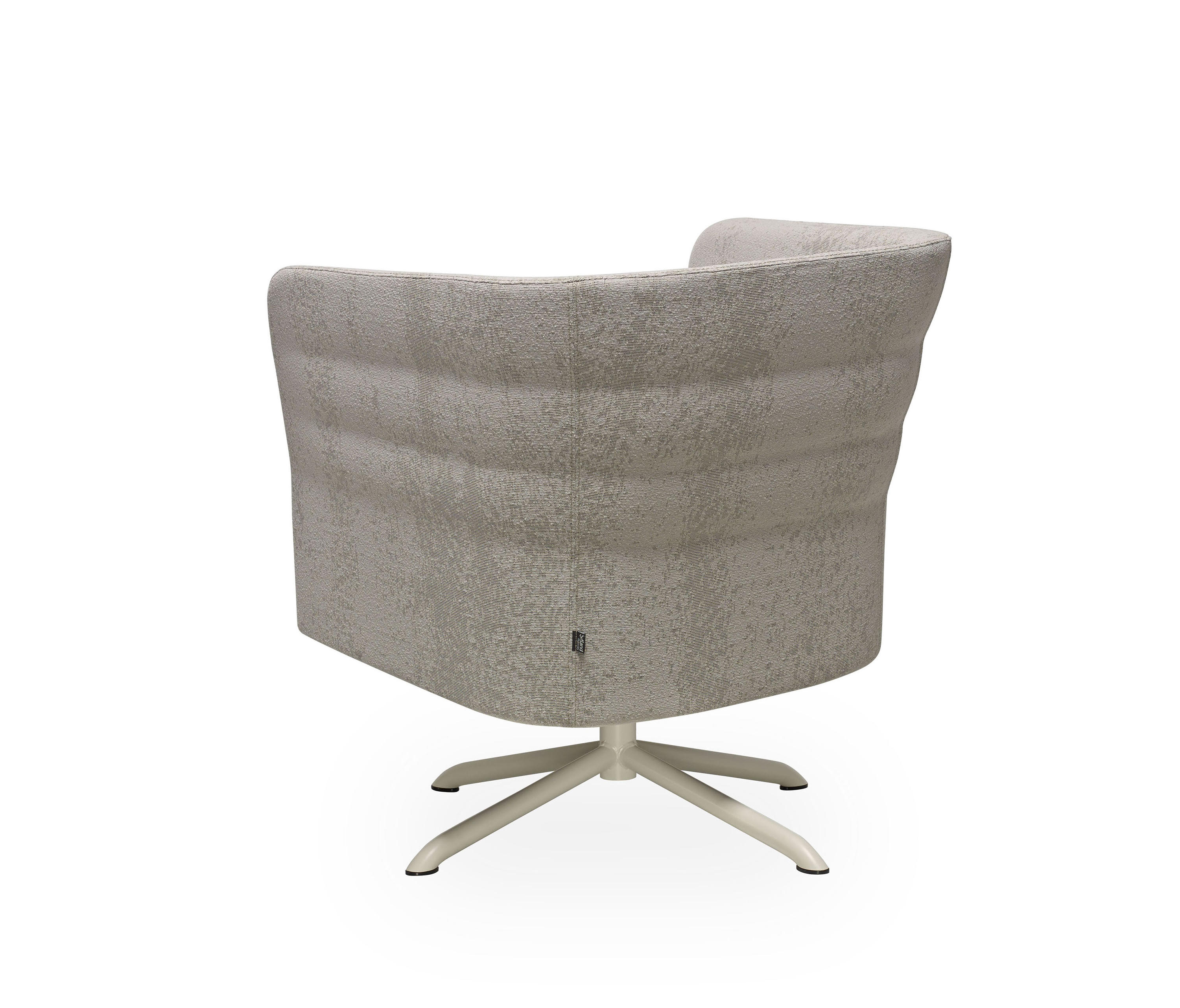 Cell 72 Swivel Armchair With 4 Spoke Base By Sitland | Armchairs