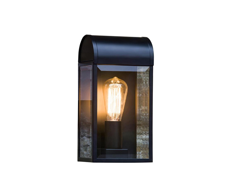 newbury black outdoor wall lights from astro lighting architonic