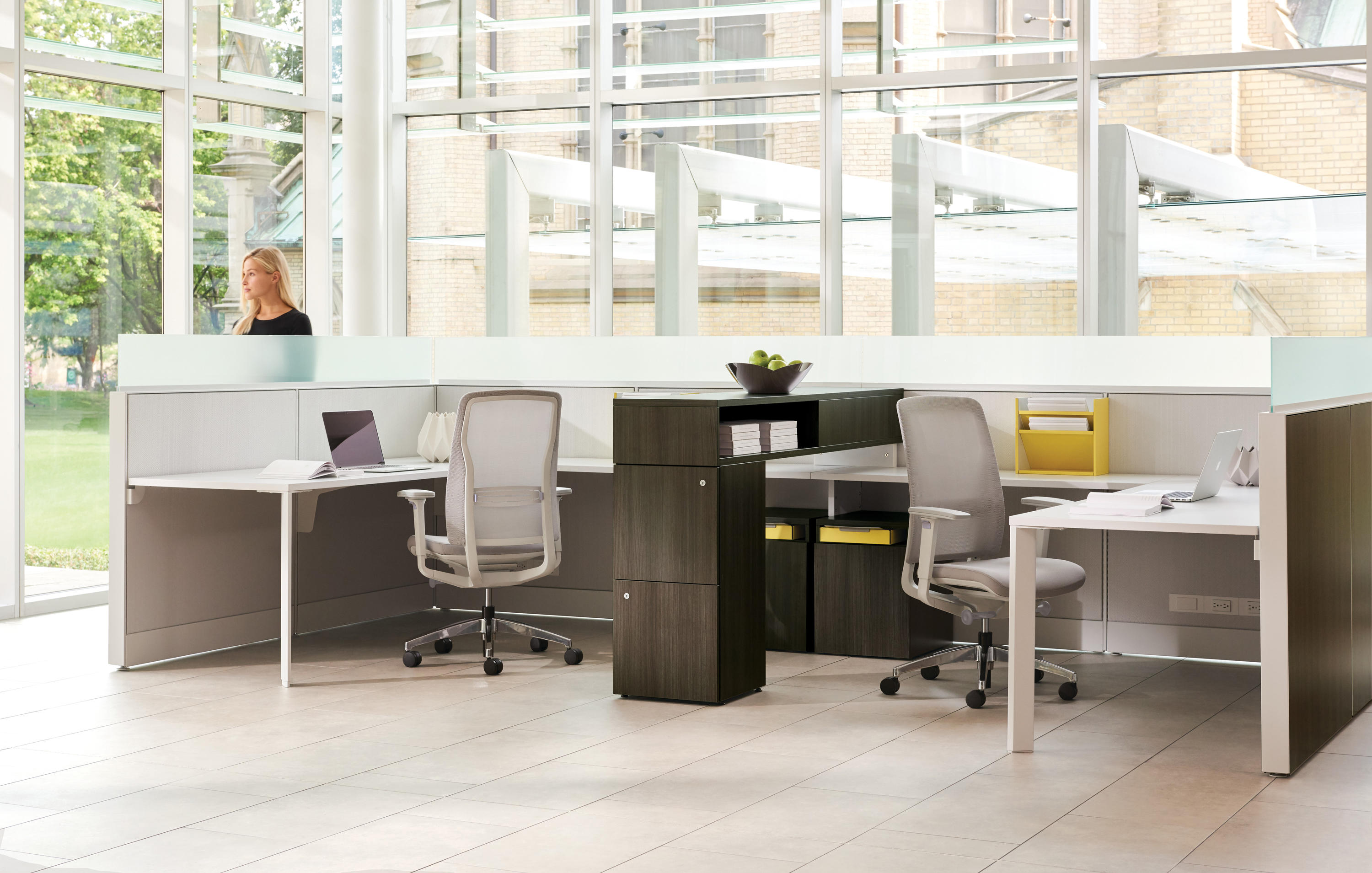 Leverage Table Dividers From Teknion Architonic