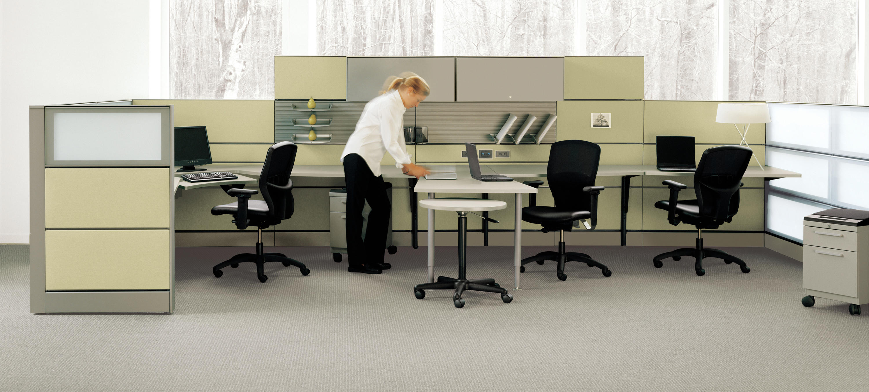 Transit office systems from teknion architonic for Furniture 08054