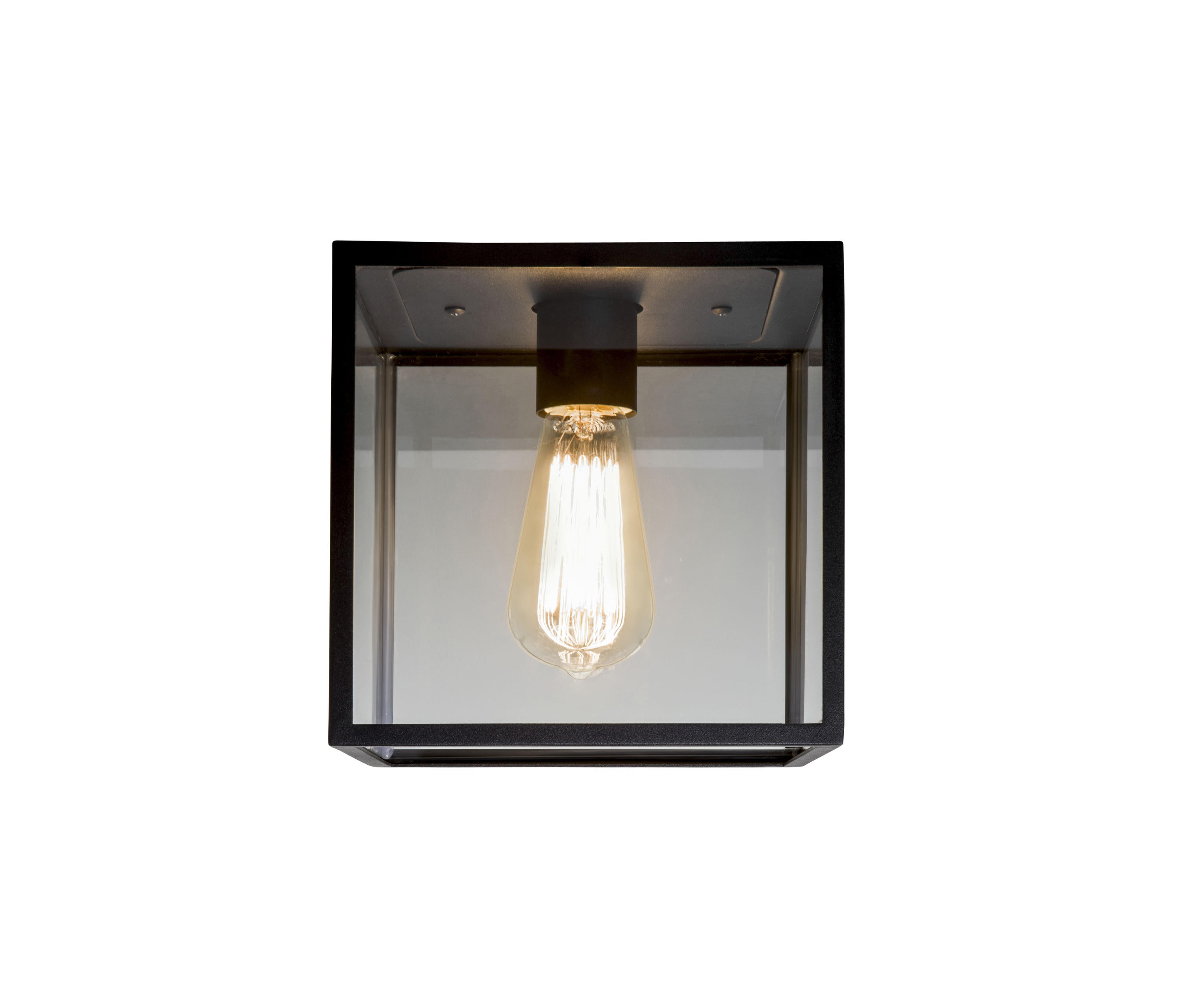 Box Ceiling Light Black Outdoor Lights From Astro