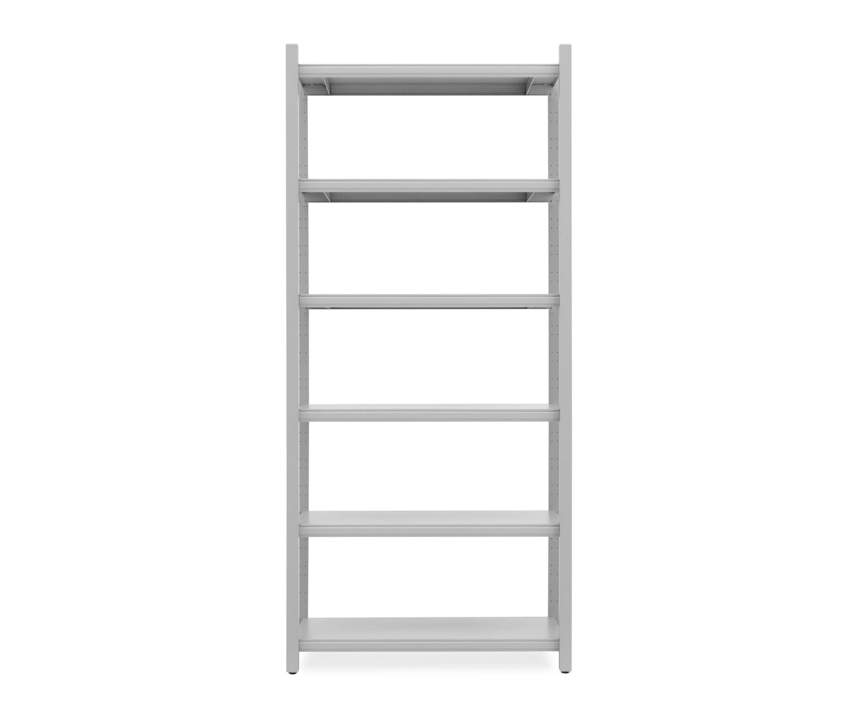 Work Bookcase High 4 Pillars Architonic
