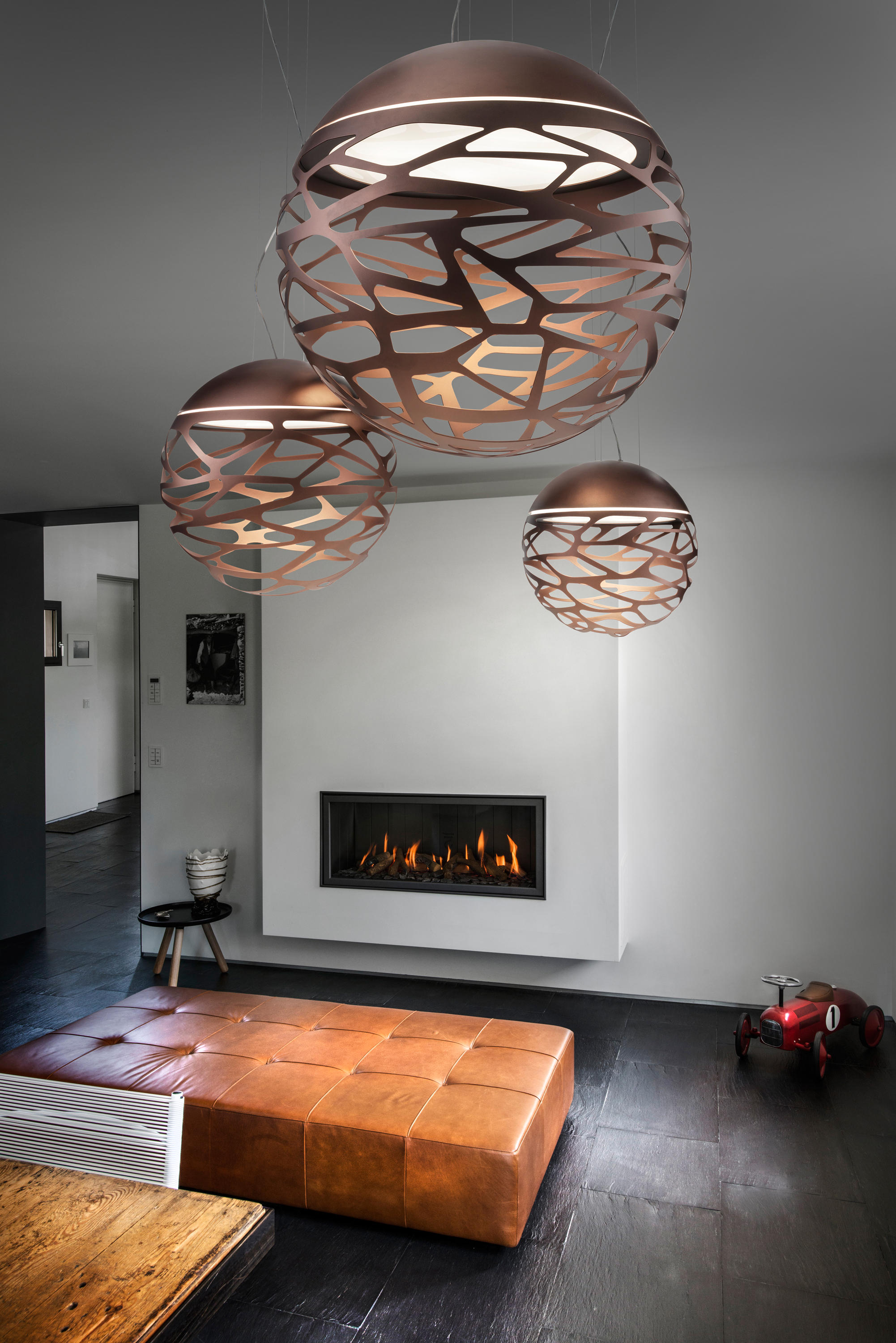Kelly Sphere Suspended Lights From Studio Italia Design