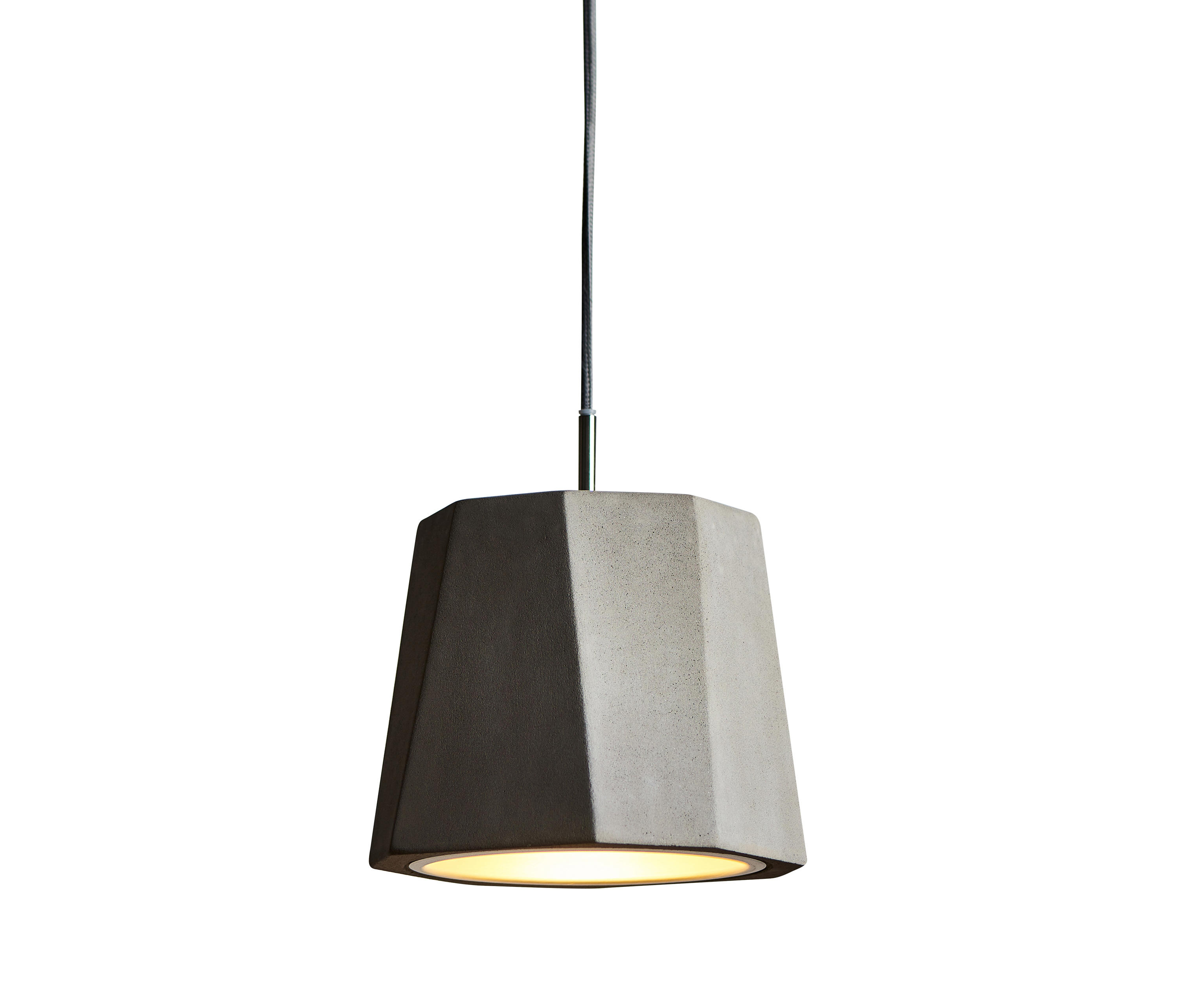 matteo in pendants concrete light pendant round globes black