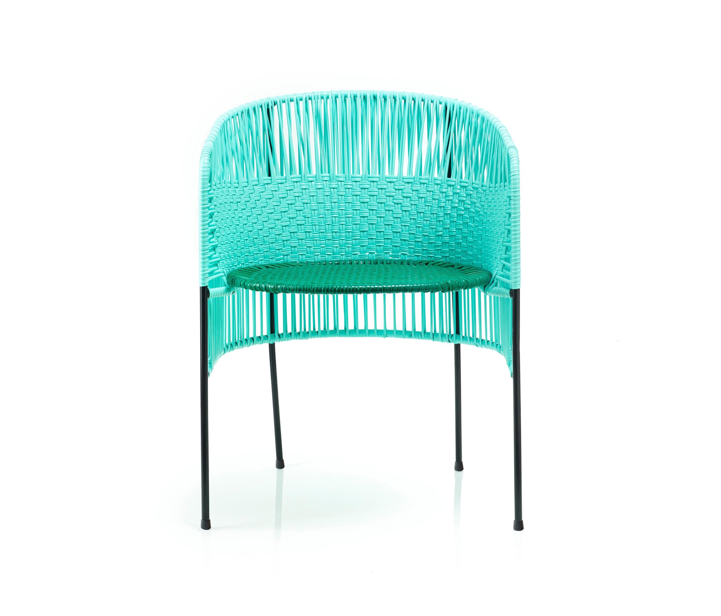Caribe Dining Chair Mint Green Black Restaurant Chairs From Ames Architonic
