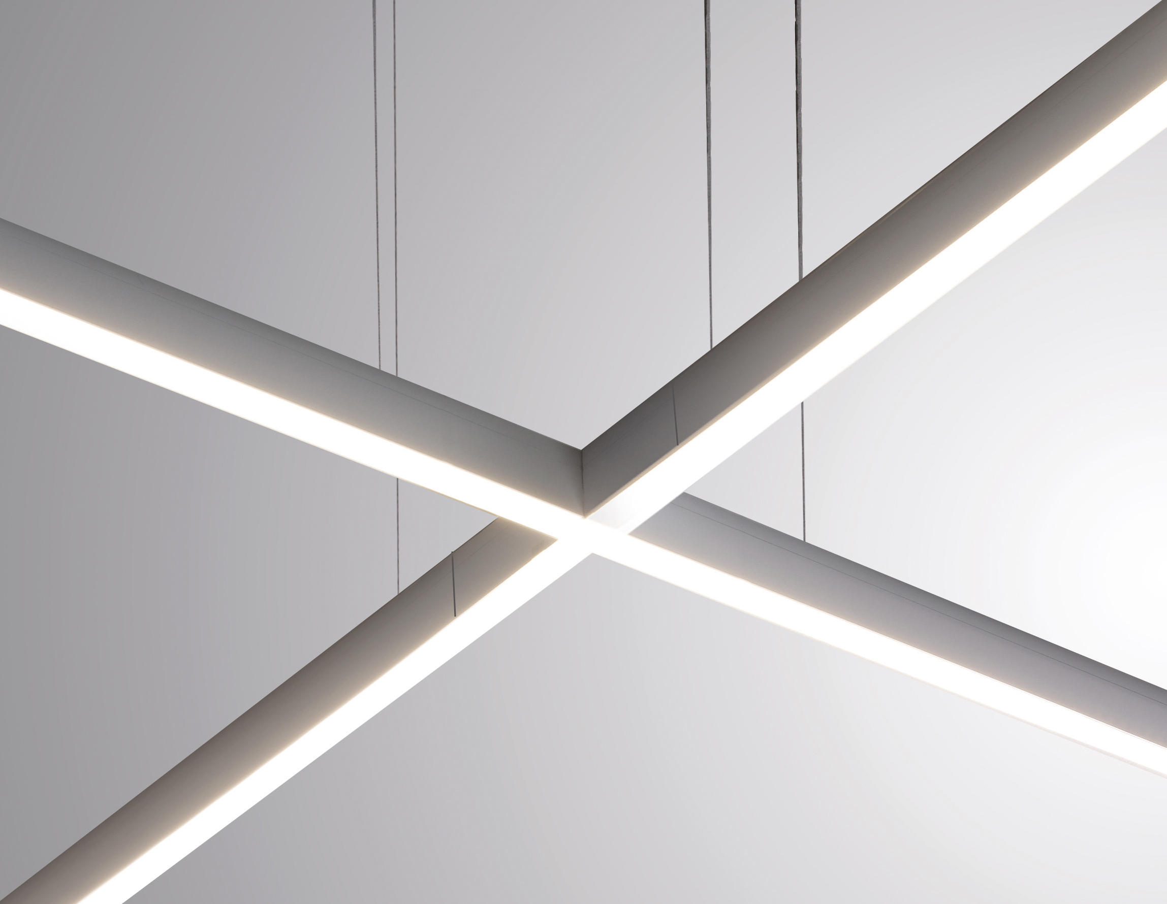 Rail sistema lampade sospensione egoluce architonic