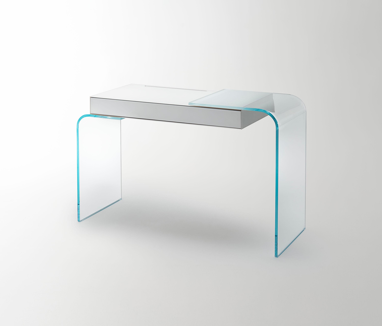 Strata schminktische von glas italia architonic for Schreibtisch 50 x 120