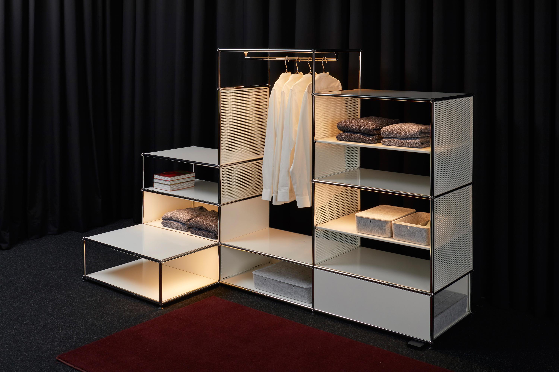 usm haller e standgarderoben von usm architonic. Black Bedroom Furniture Sets. Home Design Ideas