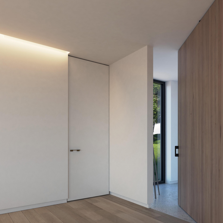 Portapivot 5045 Bronze Anodized By Internal Doors