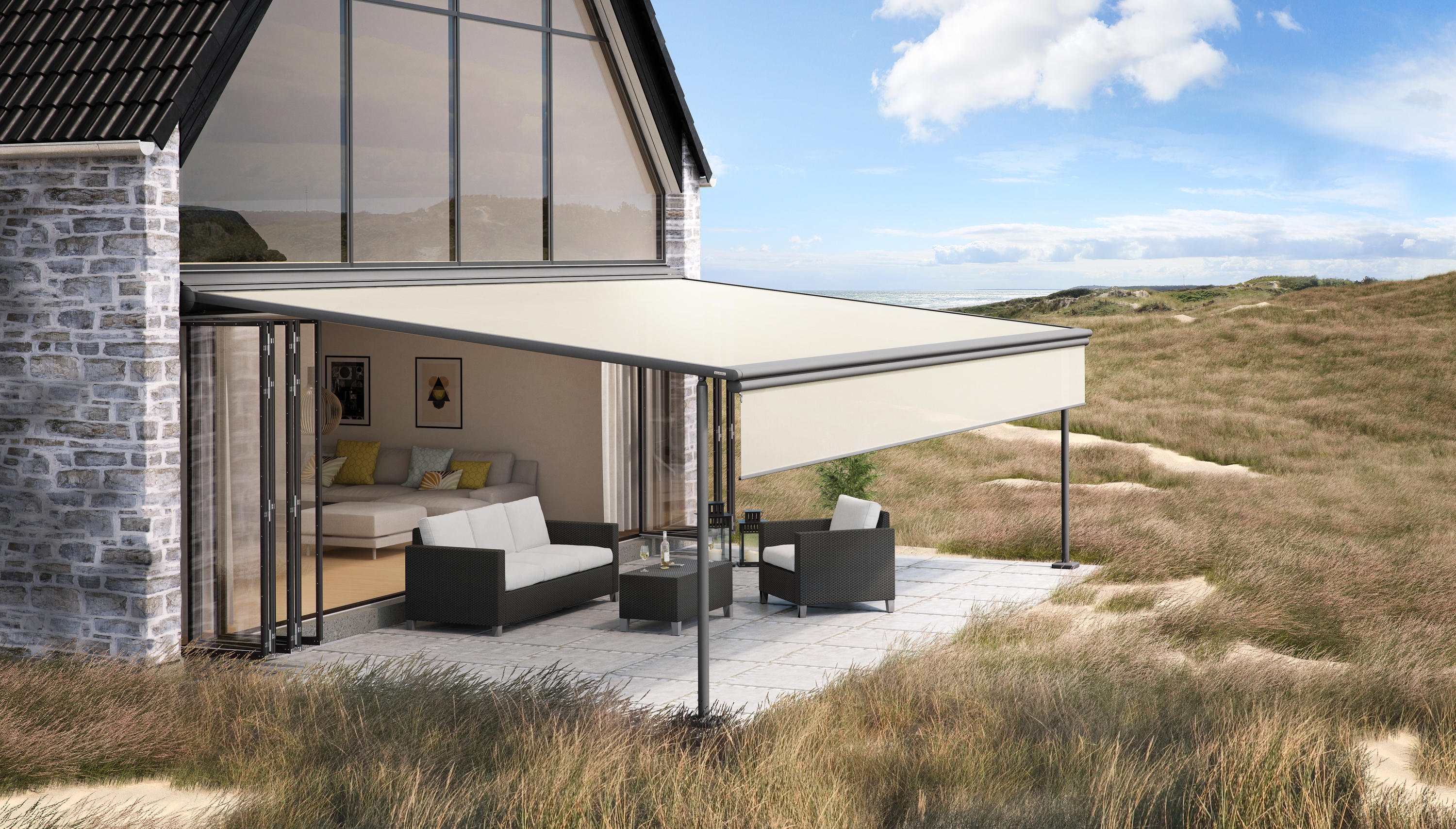 Markilux Pergola Electric Systems From Markilux Architonic