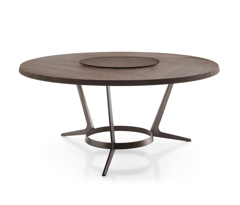 ASTRUM ROUND TABLE Restaurant tables from Maxalto