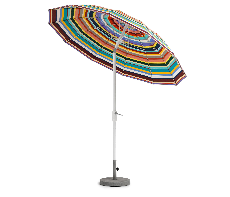 Weishäupl Sonnenschirm.Pagoda Umbrella 240 Cm Round Parasols From Weishäupl