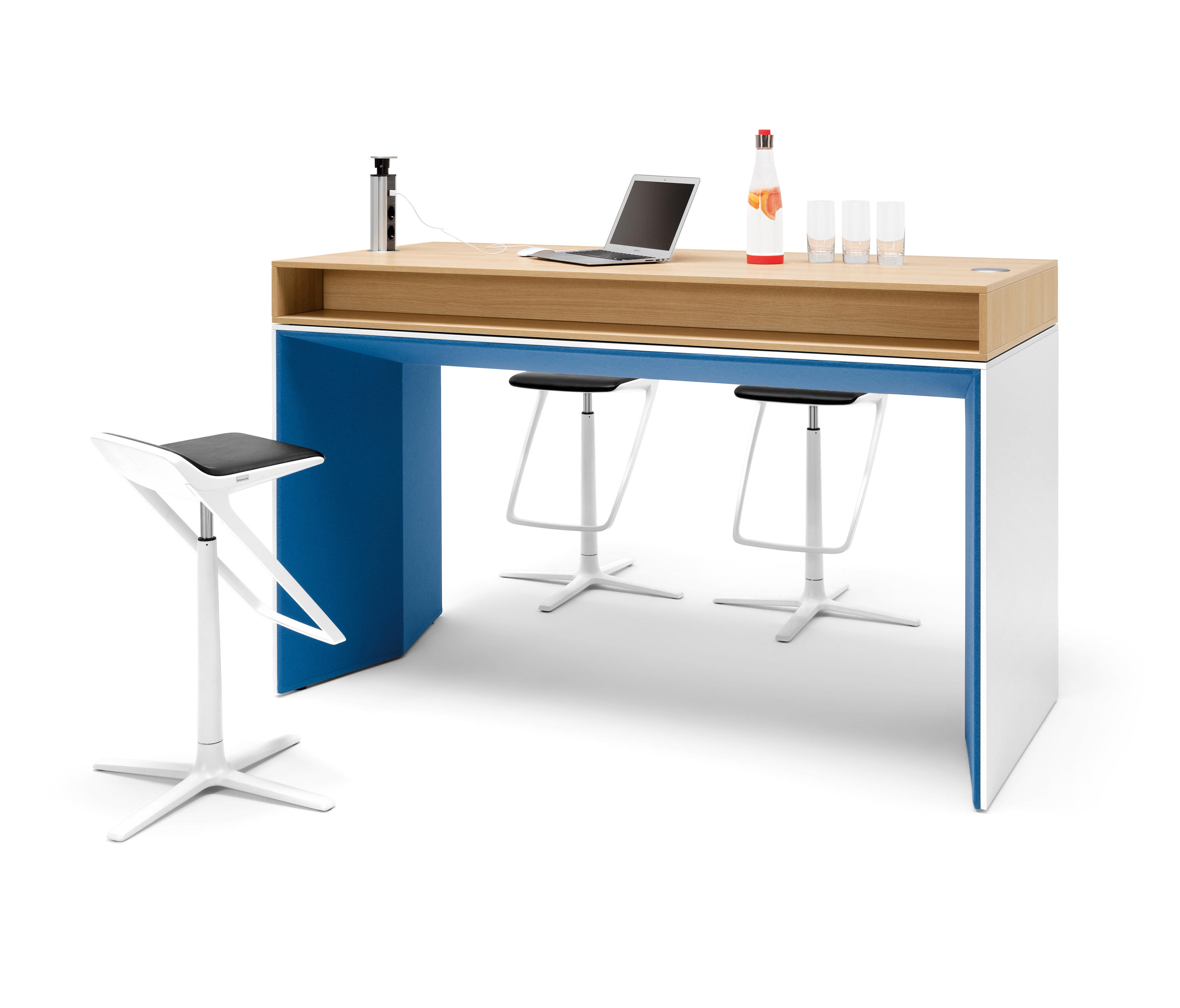 WINEA PLUS | PANELLEG TABEL - Desking systems from WINI Büromöbel ...