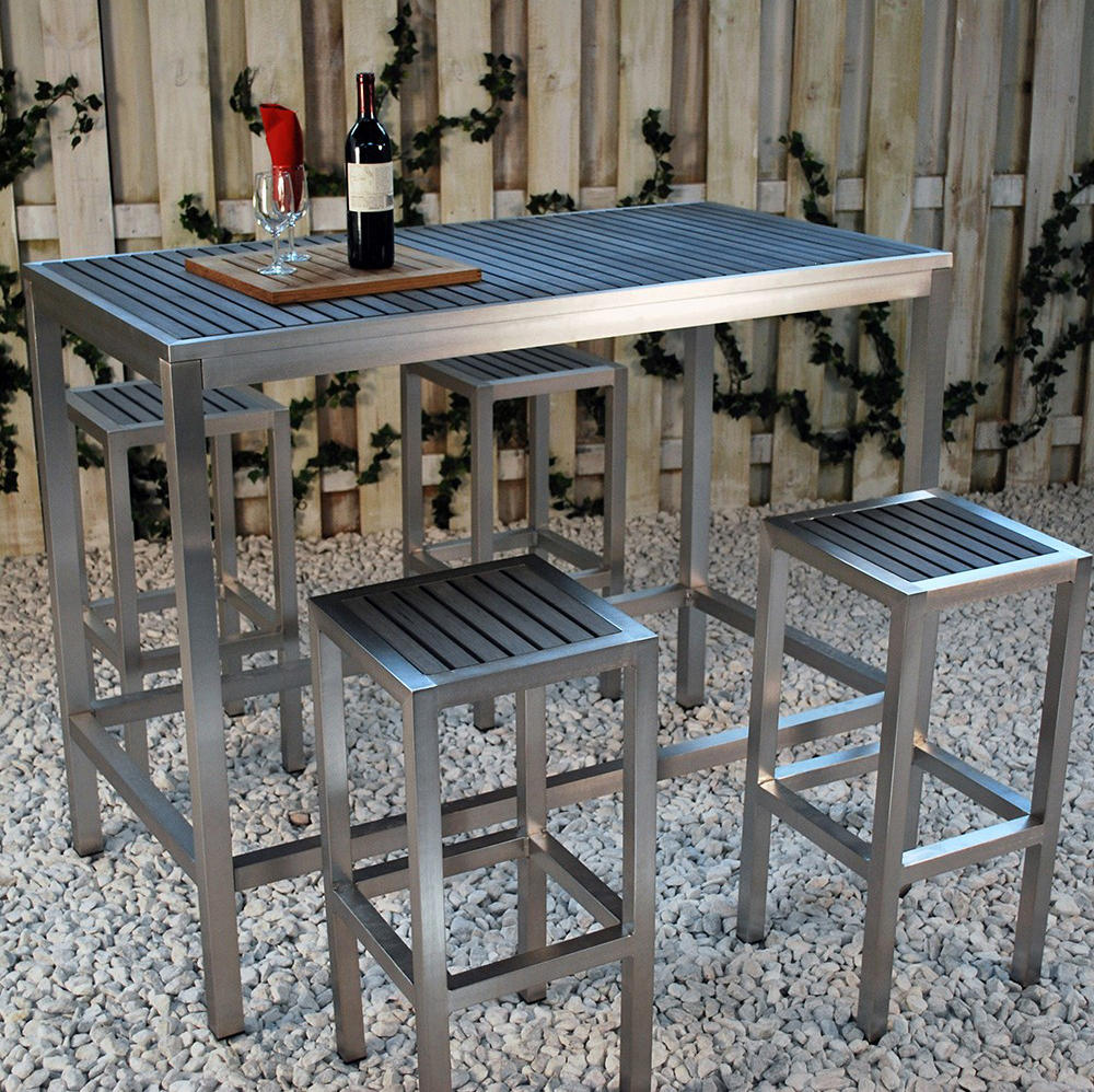 Rectangular Pub Tables Amazon Com: SICILIA RECTANGULAR BAR TABLE