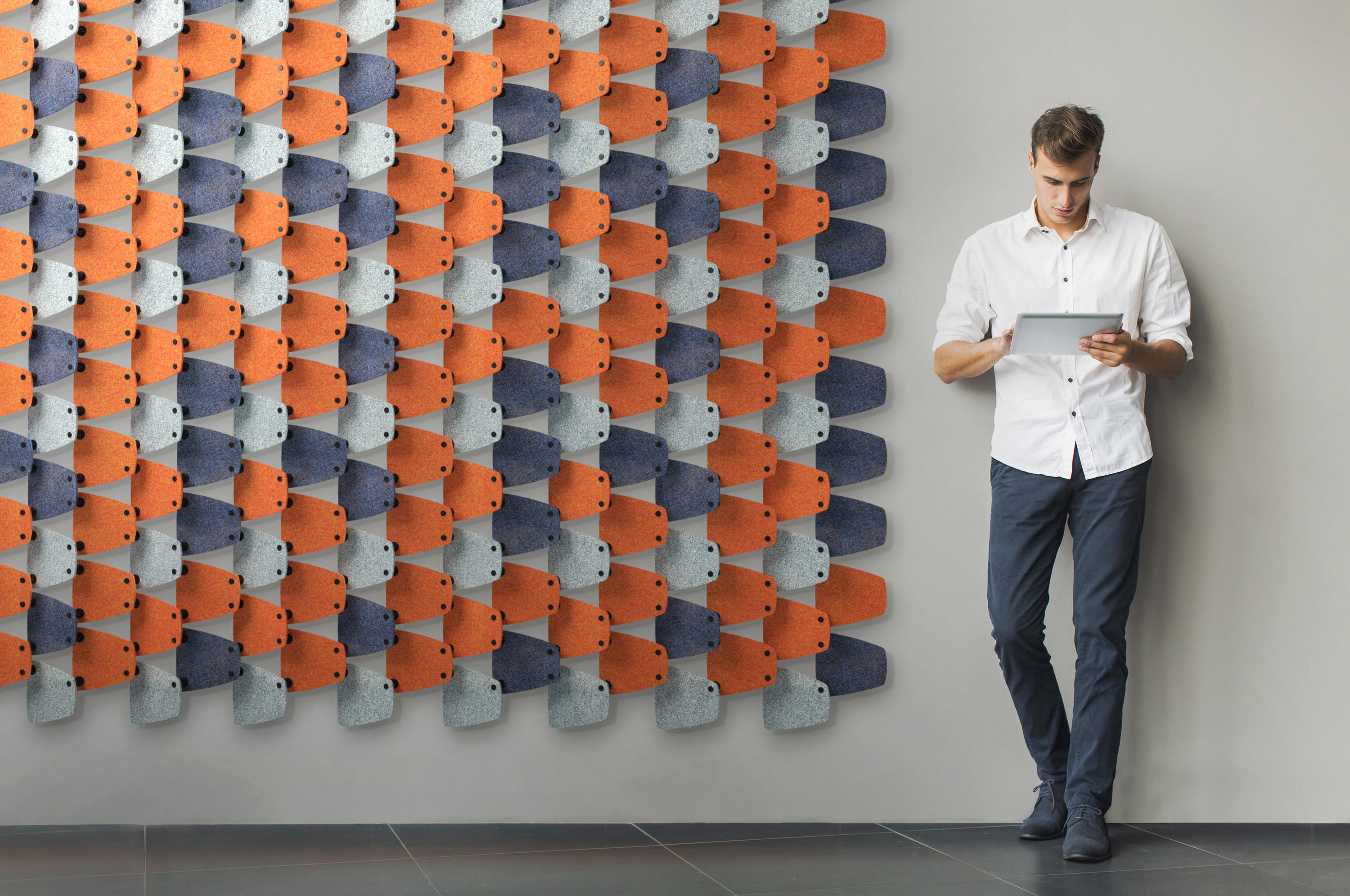 Haptic Sound Absorbing Architectural Systems From