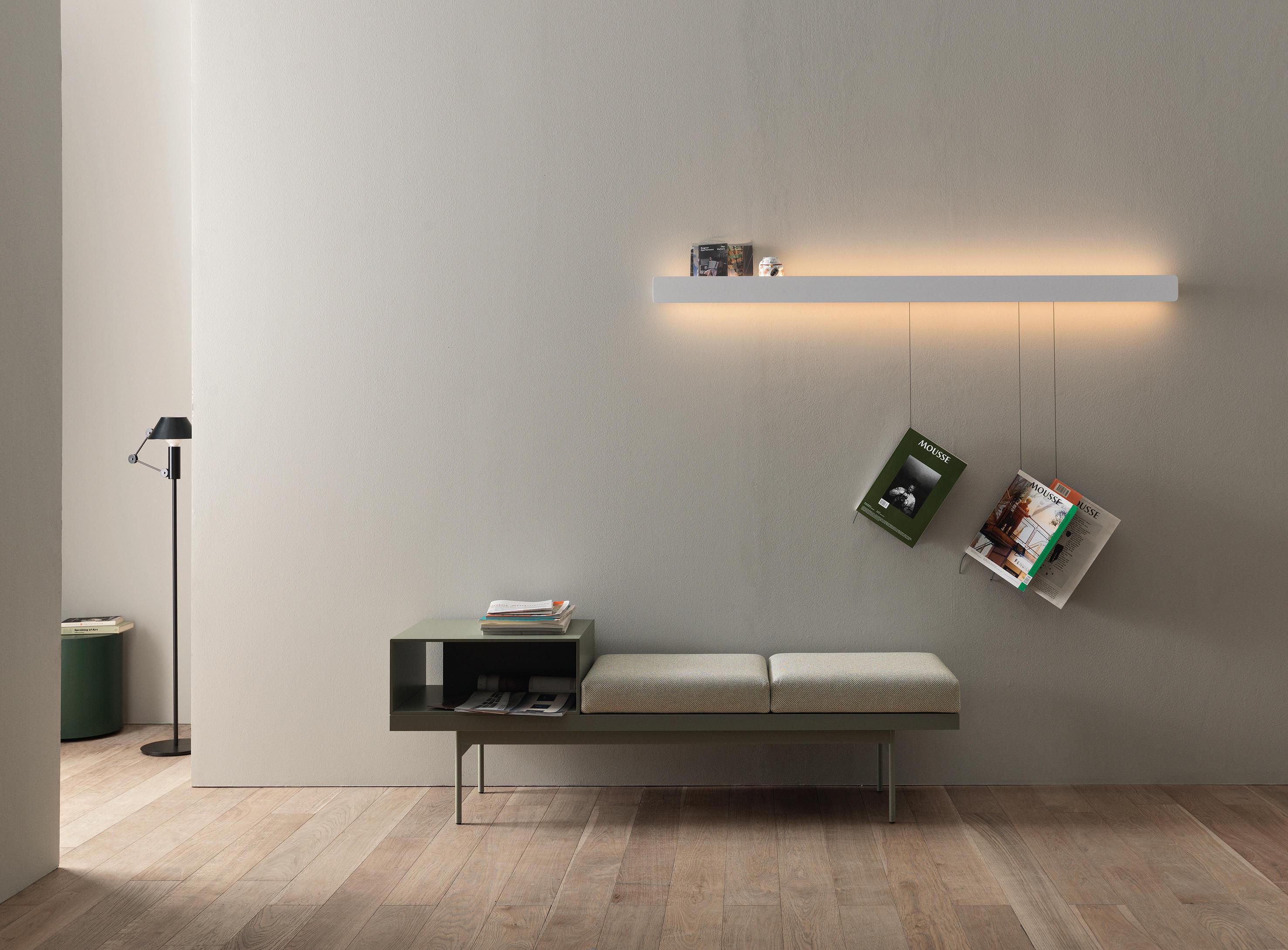 Groove barra scaffali luminosi caccaro architonic for Caccaro arredamenti