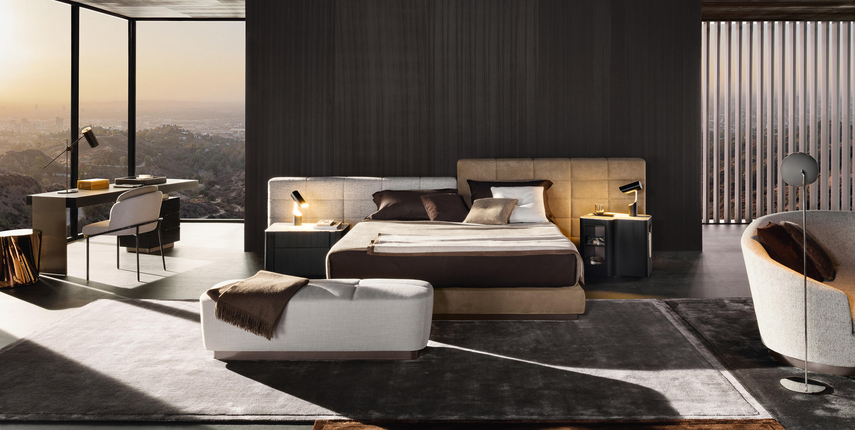 Lawrence Bed Beds From Minotti Architonic