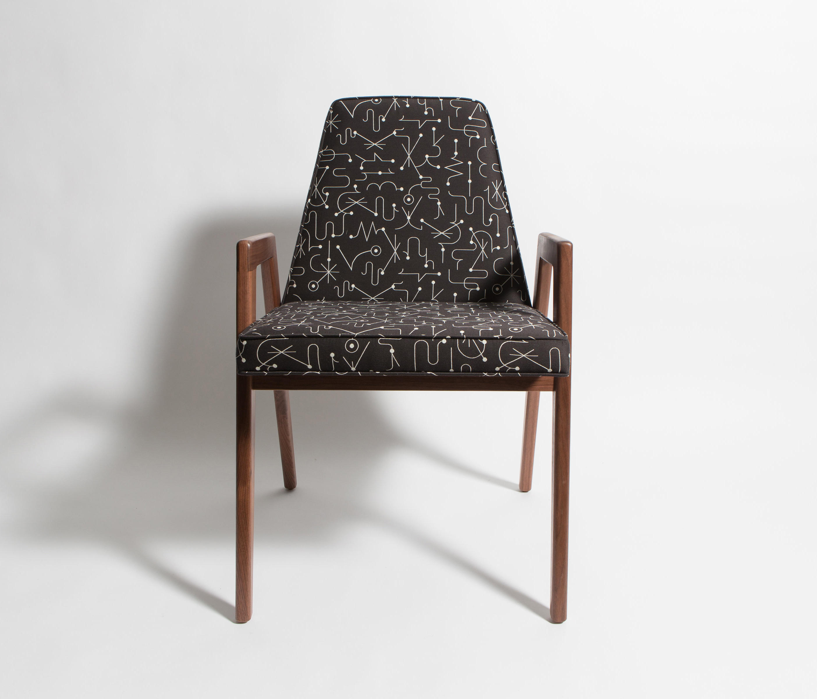 UPHOLSTERED DINING CHAIR Restaurant chairs from Smilow Design