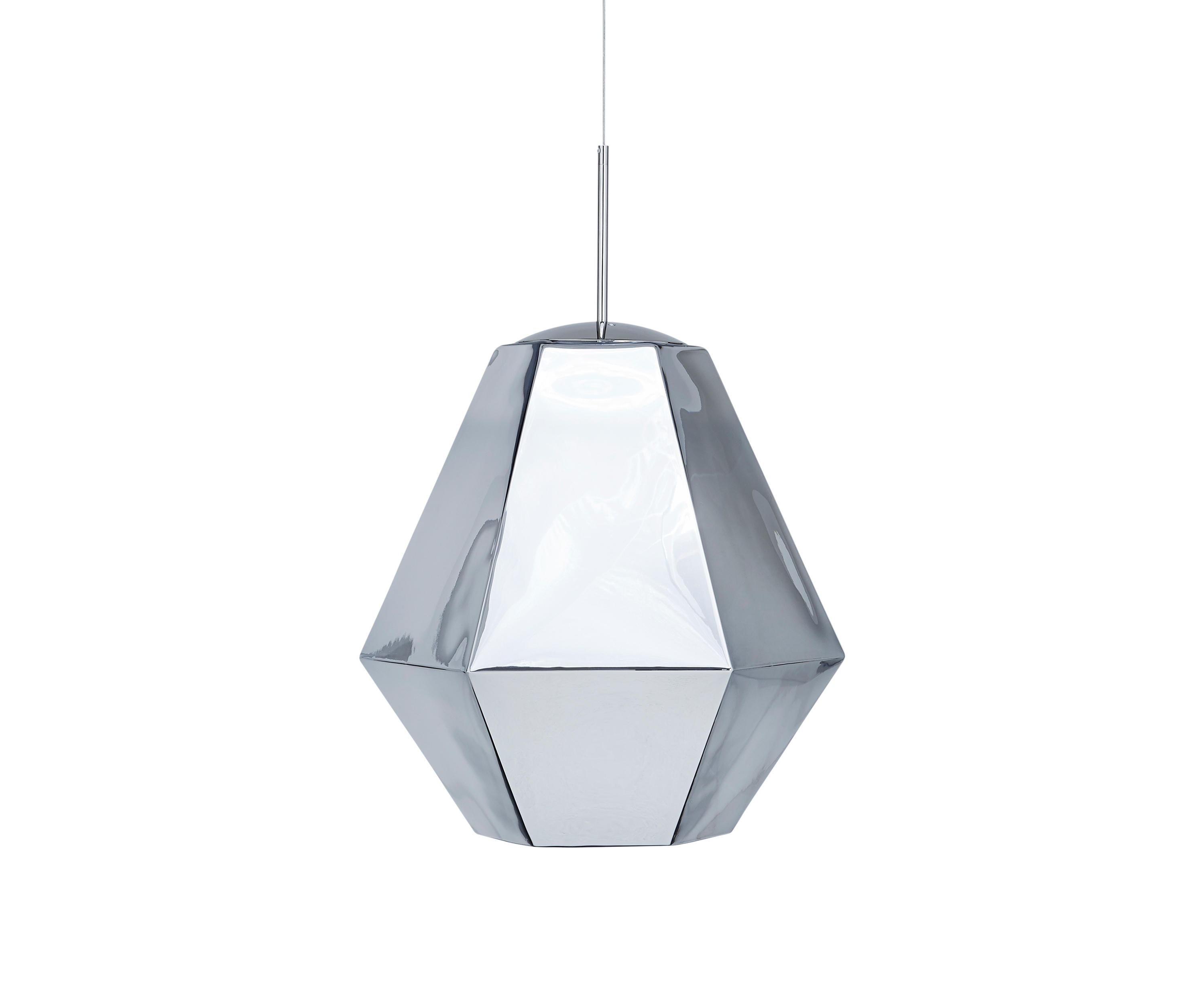 Cut tall pendant chrome general lighting from tom dixon Tom dixon lighting