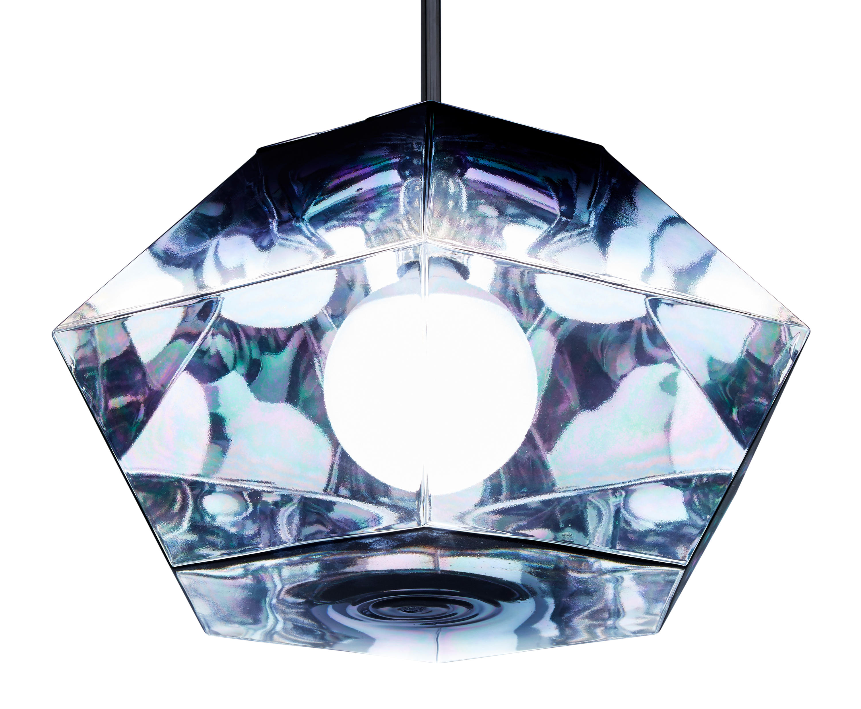 cut short pendant smoke general lighting from tom dixon. Black Bedroom Furniture Sets. Home Design Ideas