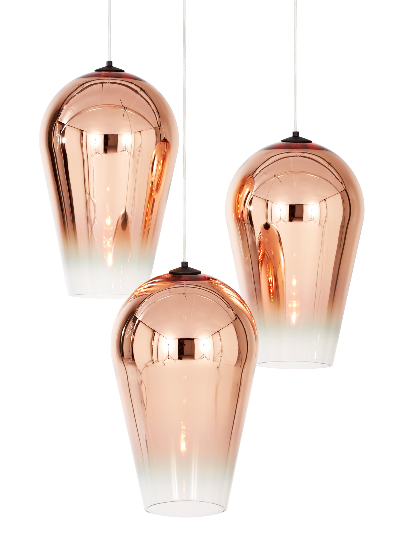 Fade Pendant Copper 50cm General Lighting From Tom Dixon