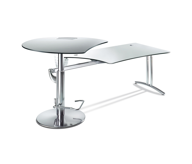 workflow steh sitz tisch t 5000 workflowkombination 120 grad schreibtische von c p. Black Bedroom Furniture Sets. Home Design Ideas
