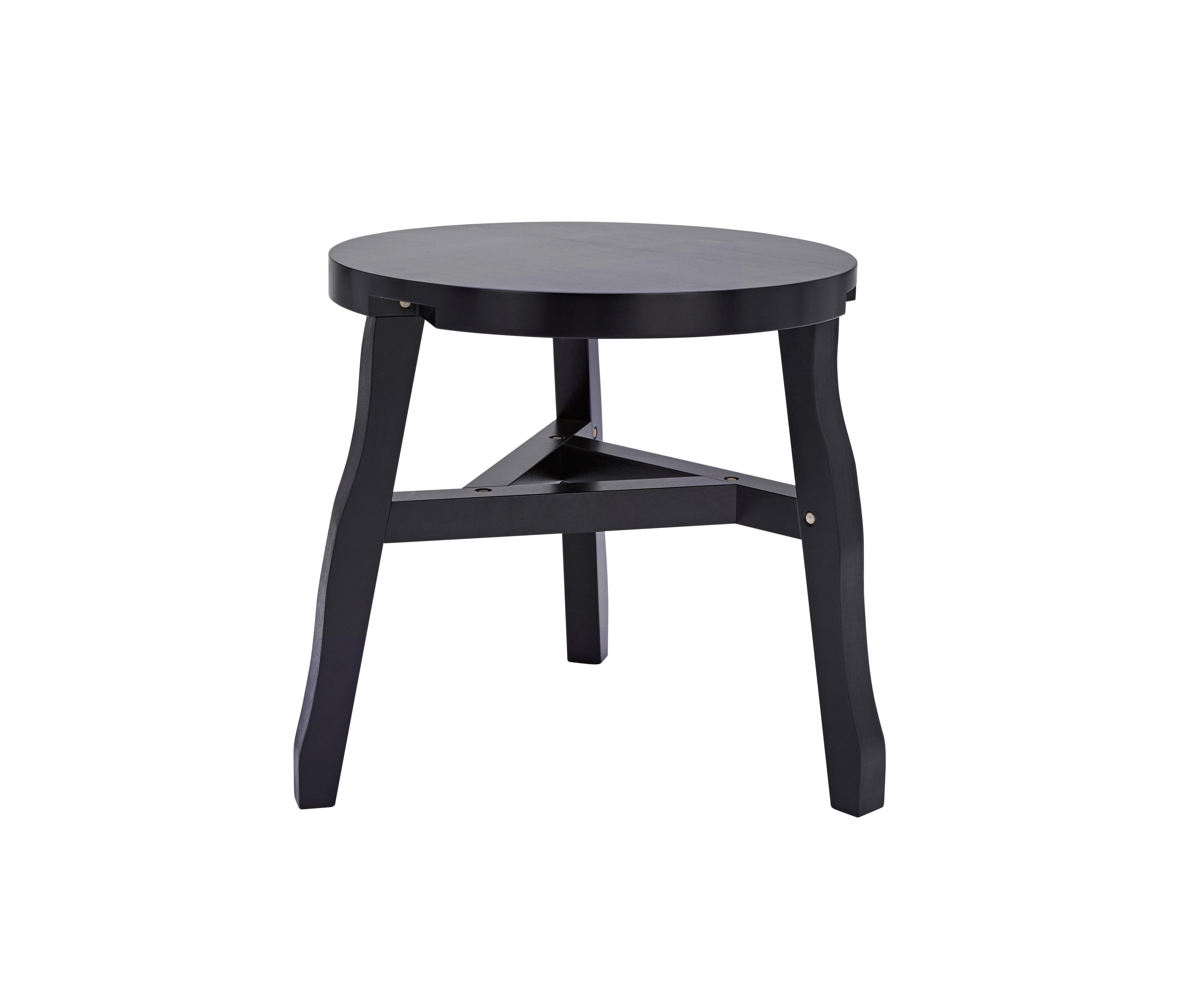 Offcut side table black tables from tom dixon