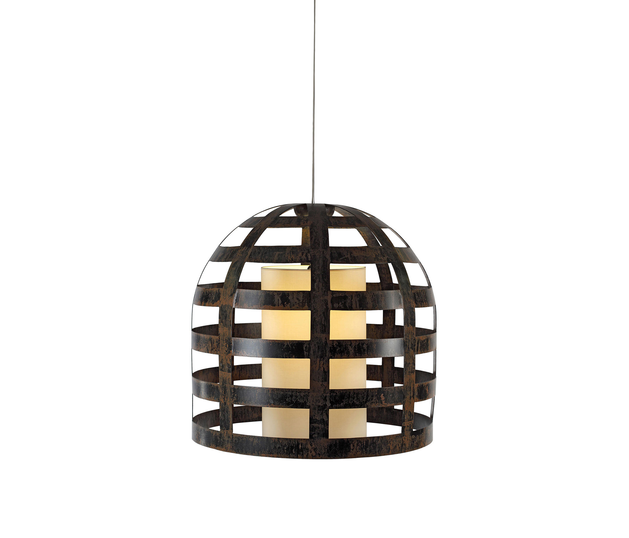 Cage suspension lamp general lighting from mambo unlimited ideas architonic - Suspension cage oiseau ...