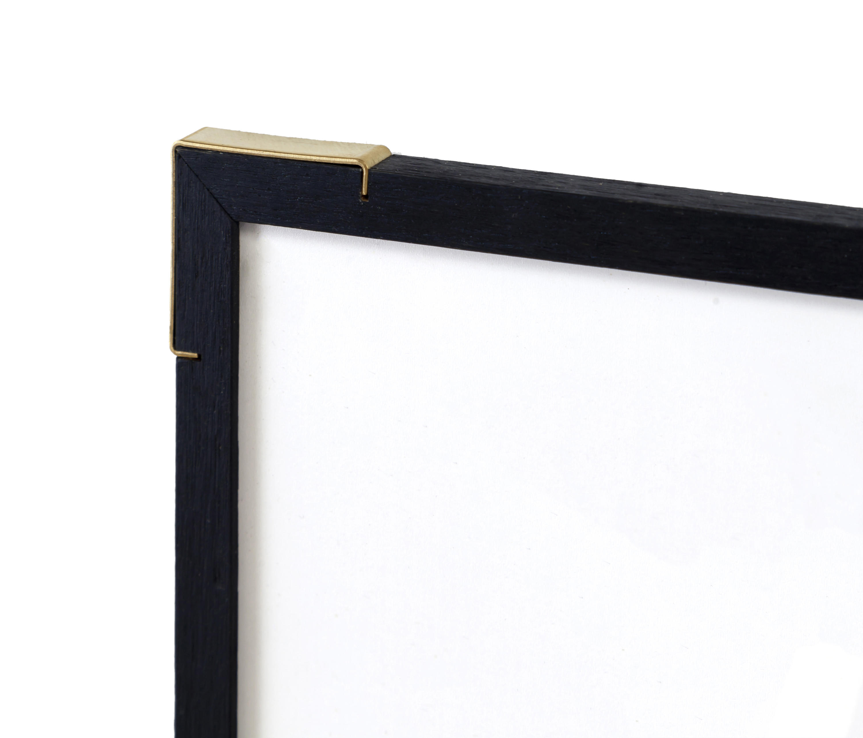 EPAULETTE \'BLACK EDITION\' A3 | BRASS CORNERS - Picture frames from ...