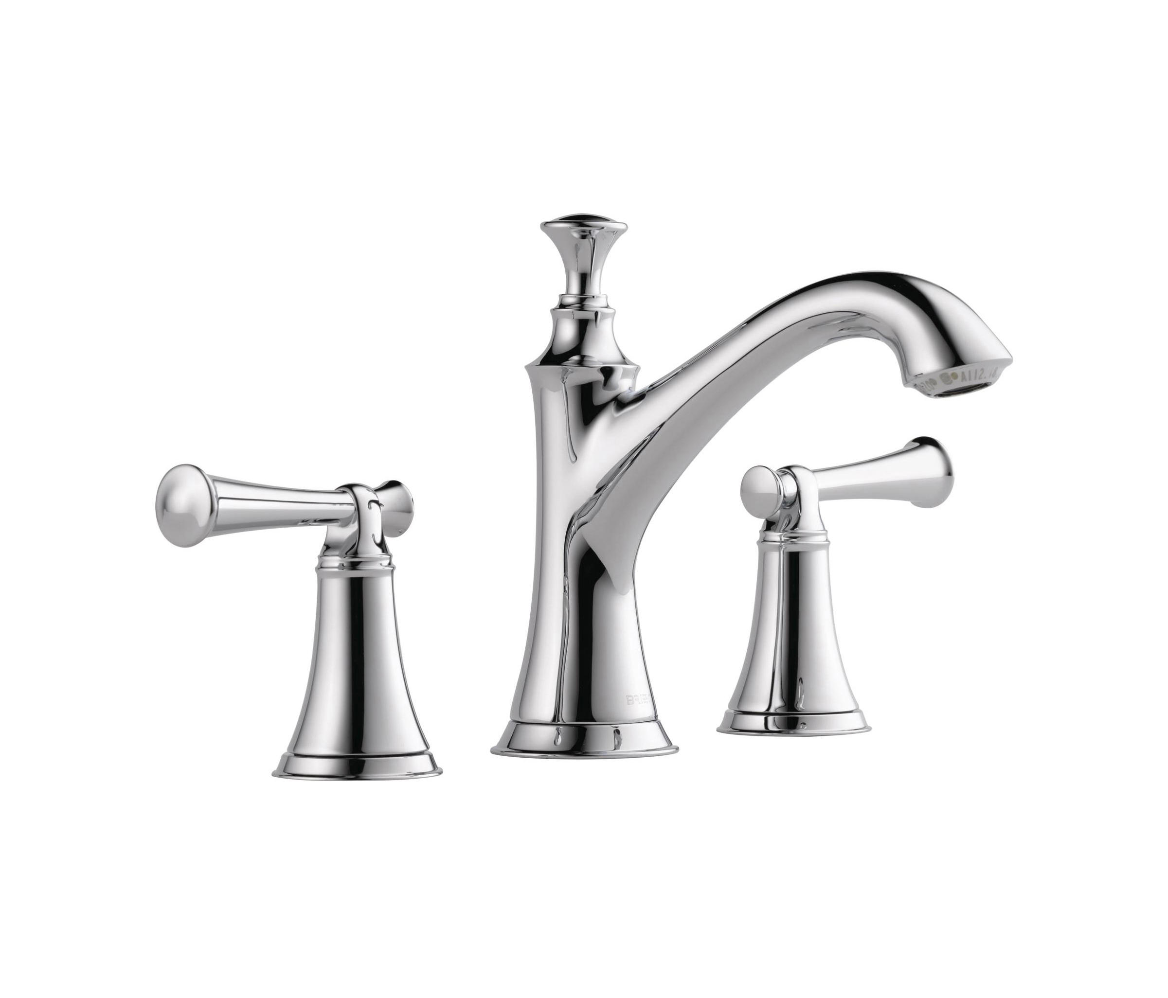Widespread With Lever Handles By Brizo Wash Basin Taps