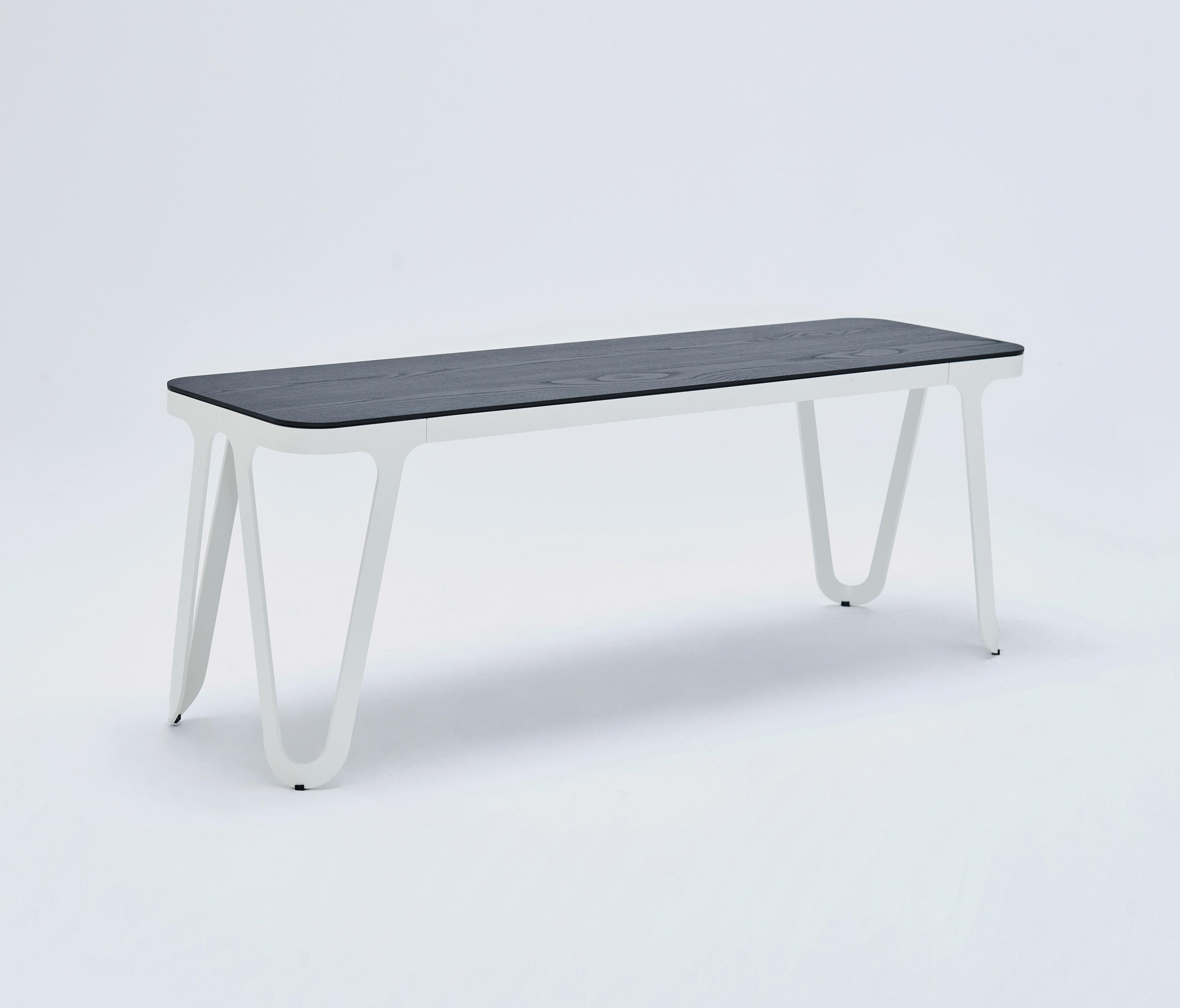 LOOP BENCH - CREAM WHITE - Waiting area benches from NEO/CRAFT ...