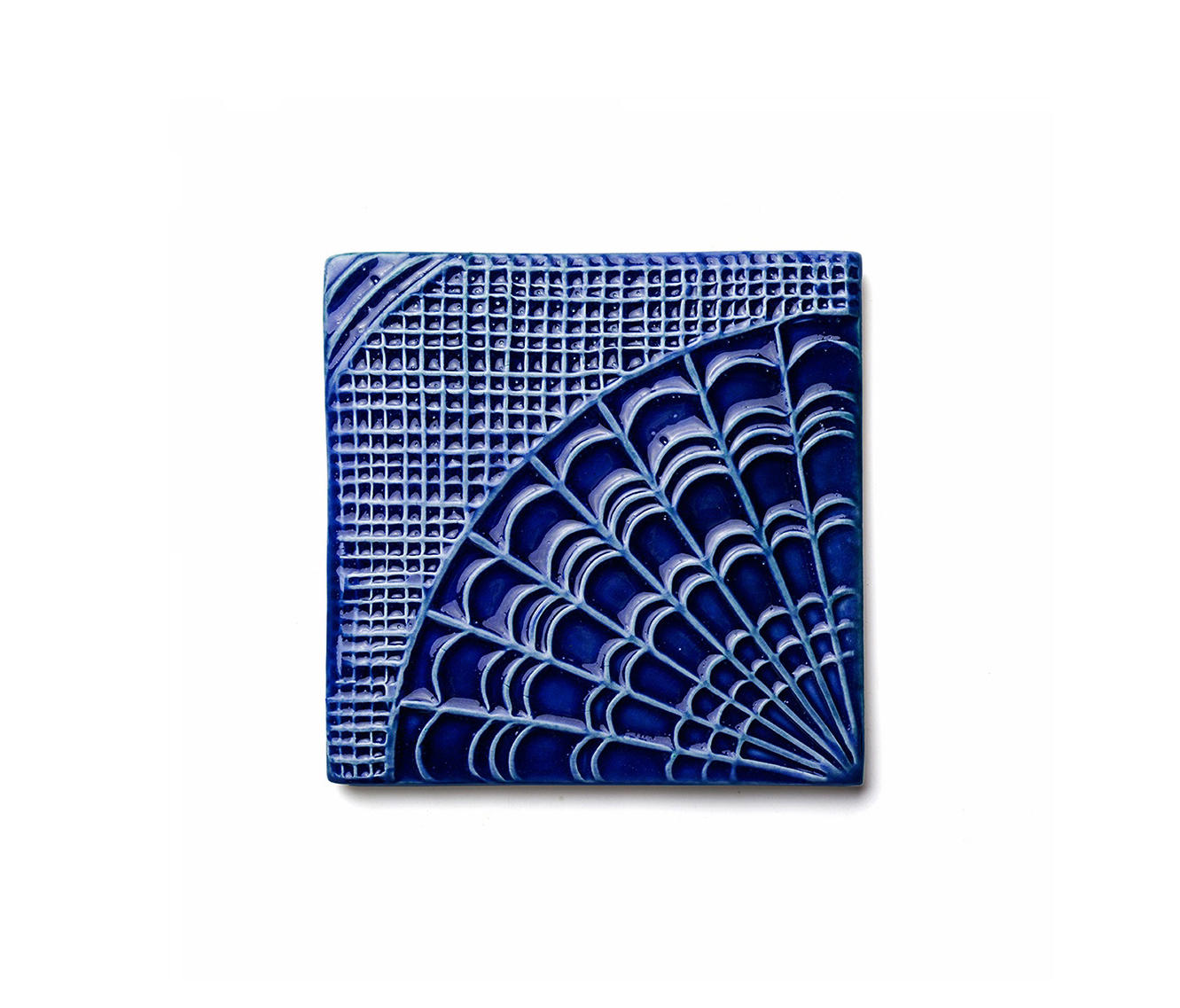 Gaud Tile Cobalt Ceramic Tiles From Mambo Unlimited Ideas