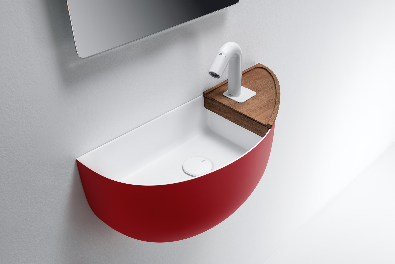 Prime Top Mounted Matt Solidsurface Washbasin Wash Basins From  # Muebles Vanitorios