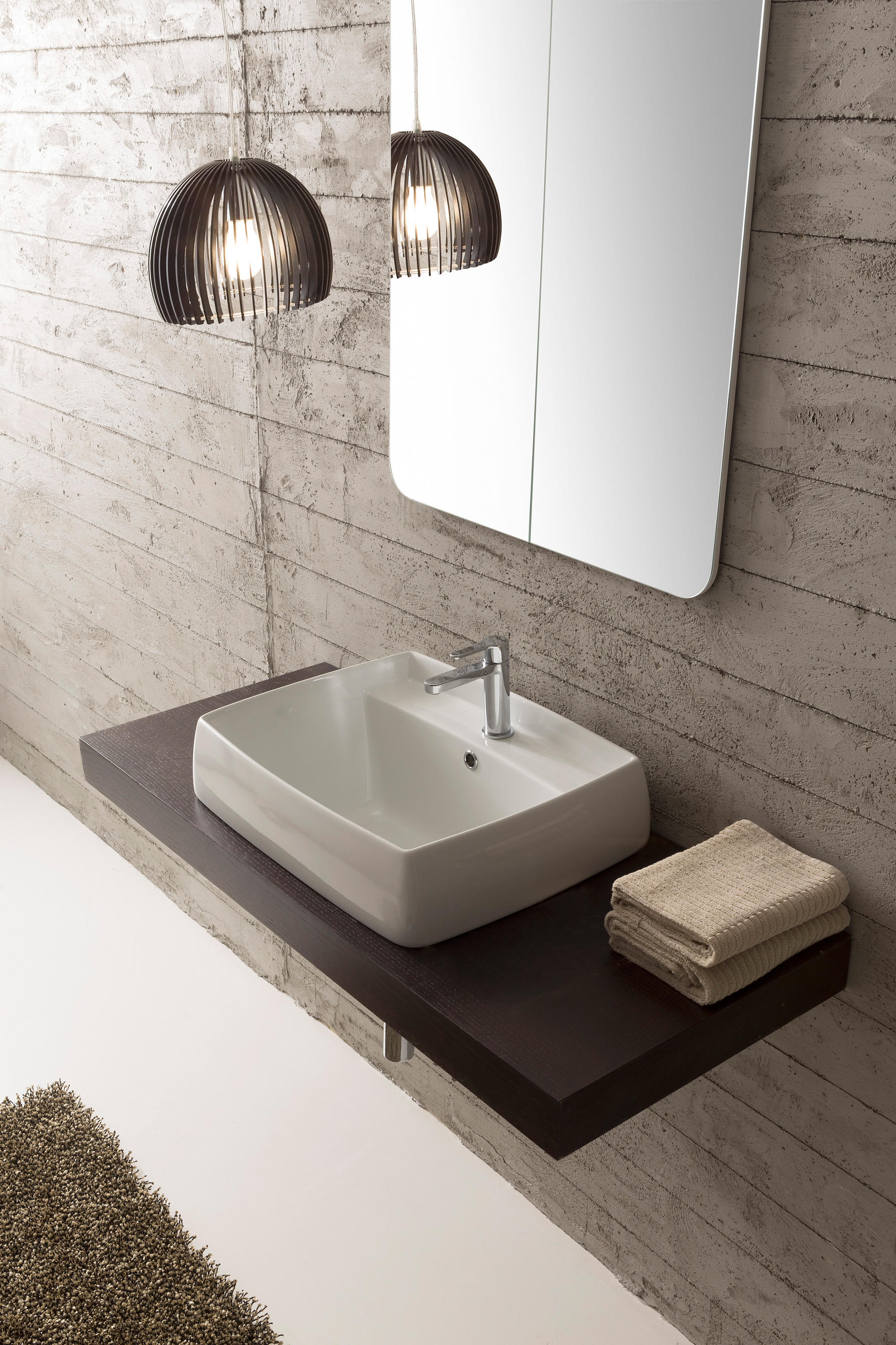 ARCO Wash Basins From Scarabeo Ceramiche Architonic - Scarabeo bathroom sinks