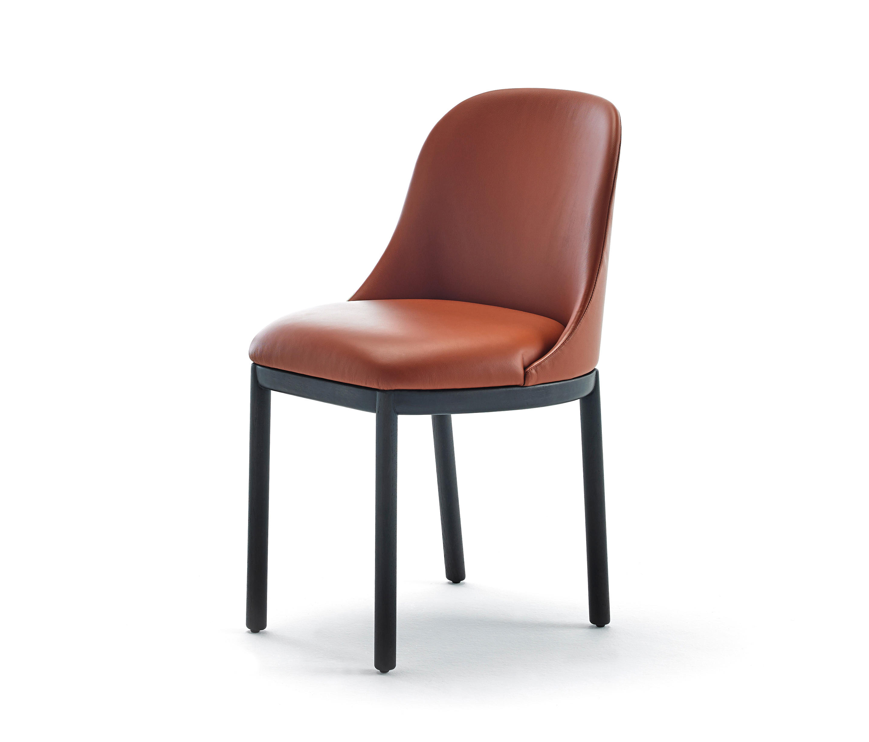 Wood Base Chairs ~ Aleta chair wooden base chairs from viccarbe architonic