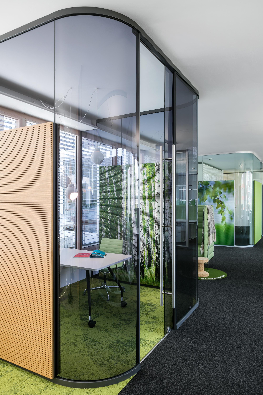 Fecot r glass sliding door st10b internal doors from for Sliding glass doors germany