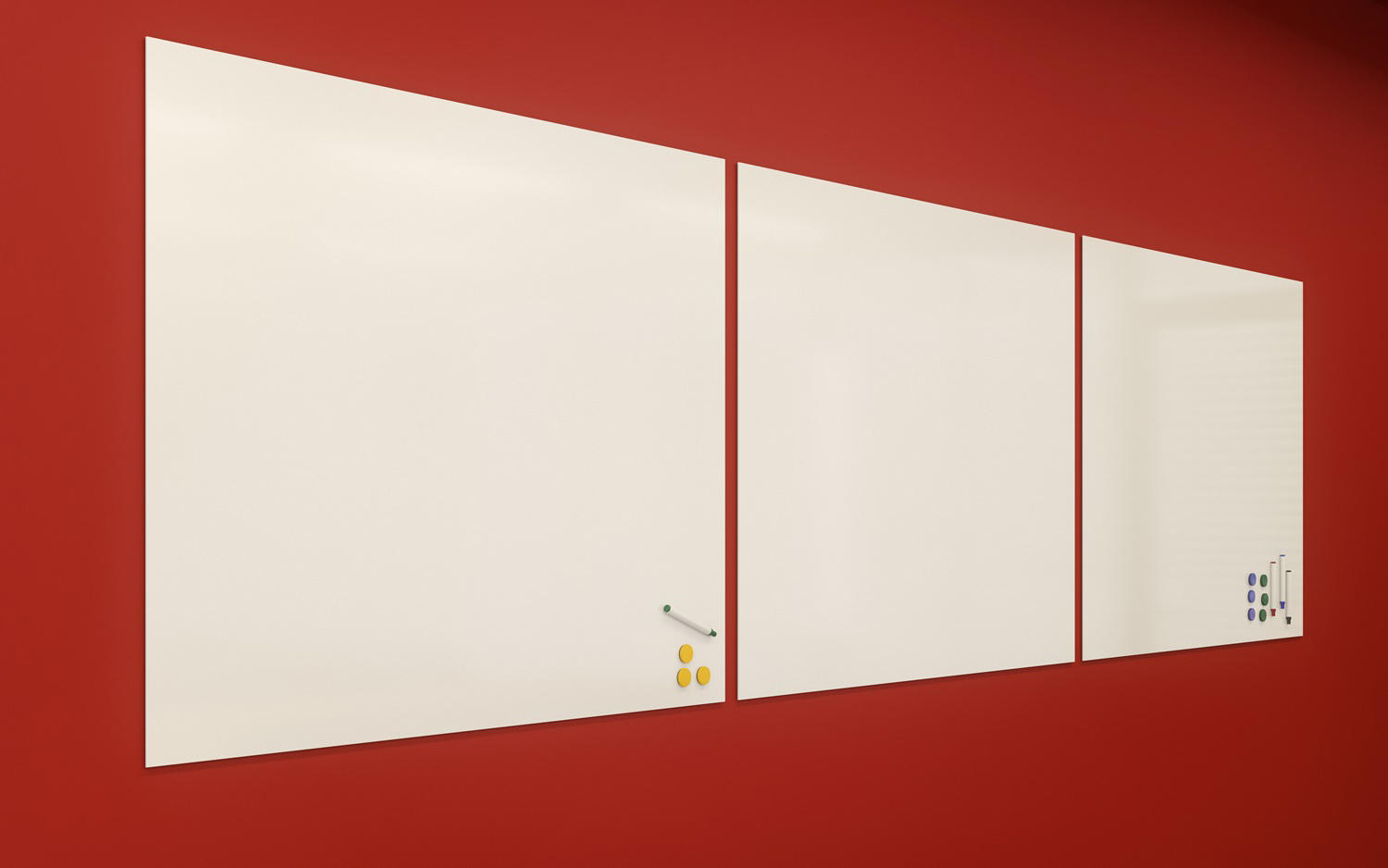 Bathroom Paneling Whiteboard 201x300.jpg adeco Whiteboard with SwissCDF by adeco | Flip charts - Writing boards
