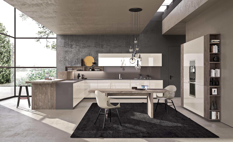 Forma cucine a parete comprex architonic - Cucine a parete ...