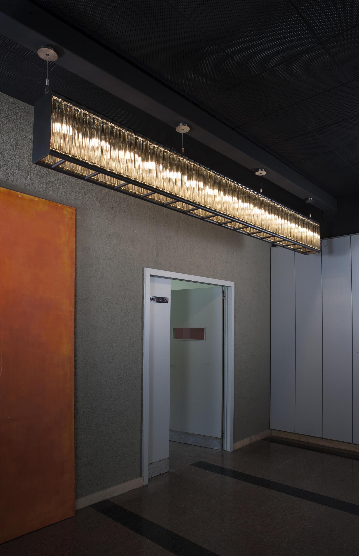L nea estadio pendant lamp iluminaci n general de santa cole architonic - Santa cole iluminacion ...