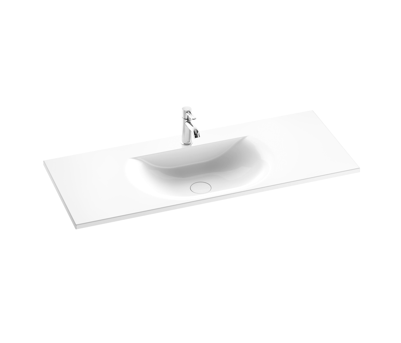 sys30 mineralguss waschtisch waschtische von burgbad. Black Bedroom Furniture Sets. Home Design Ideas