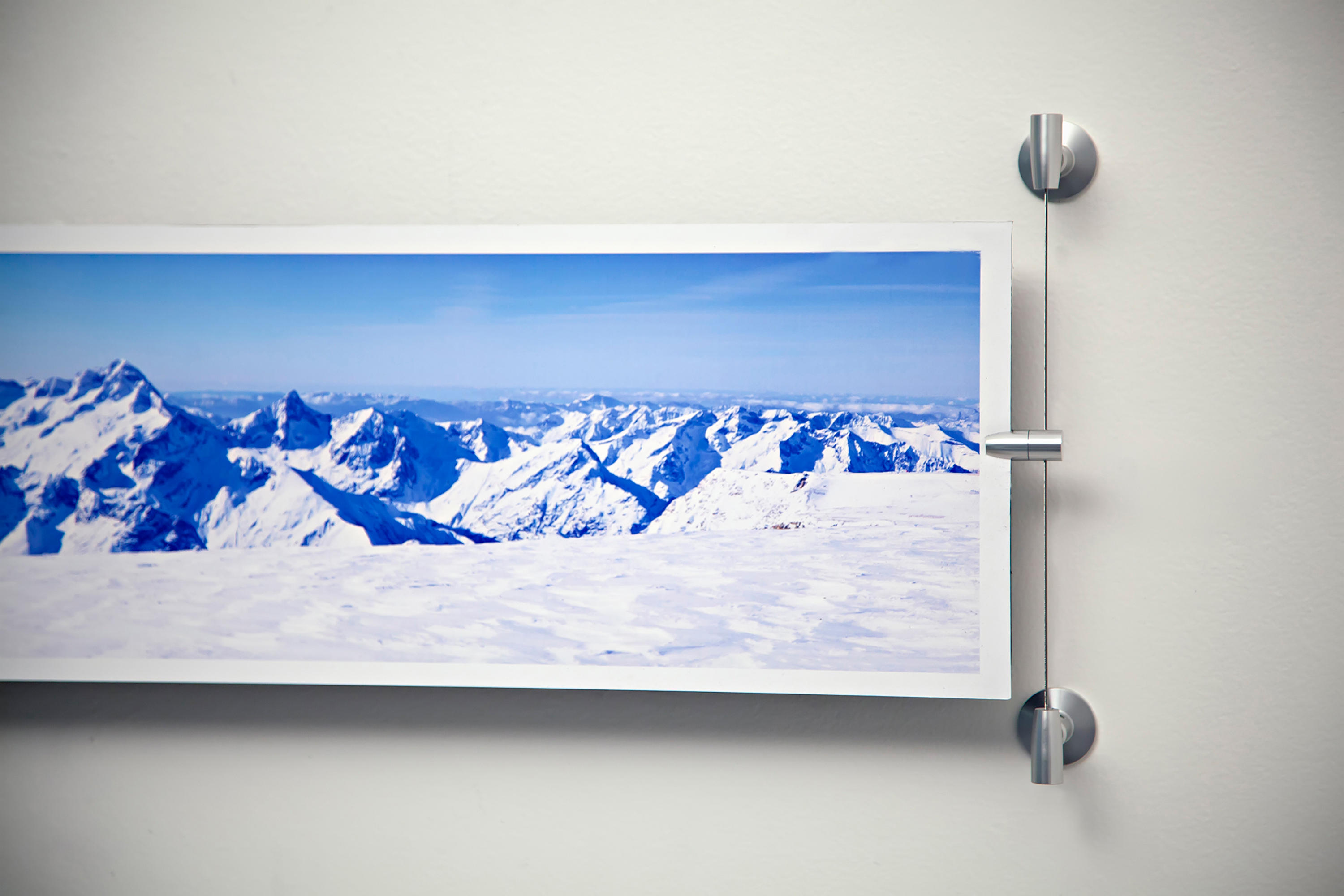 Wall Art With Wire Picture Hanging Systems From Gyford